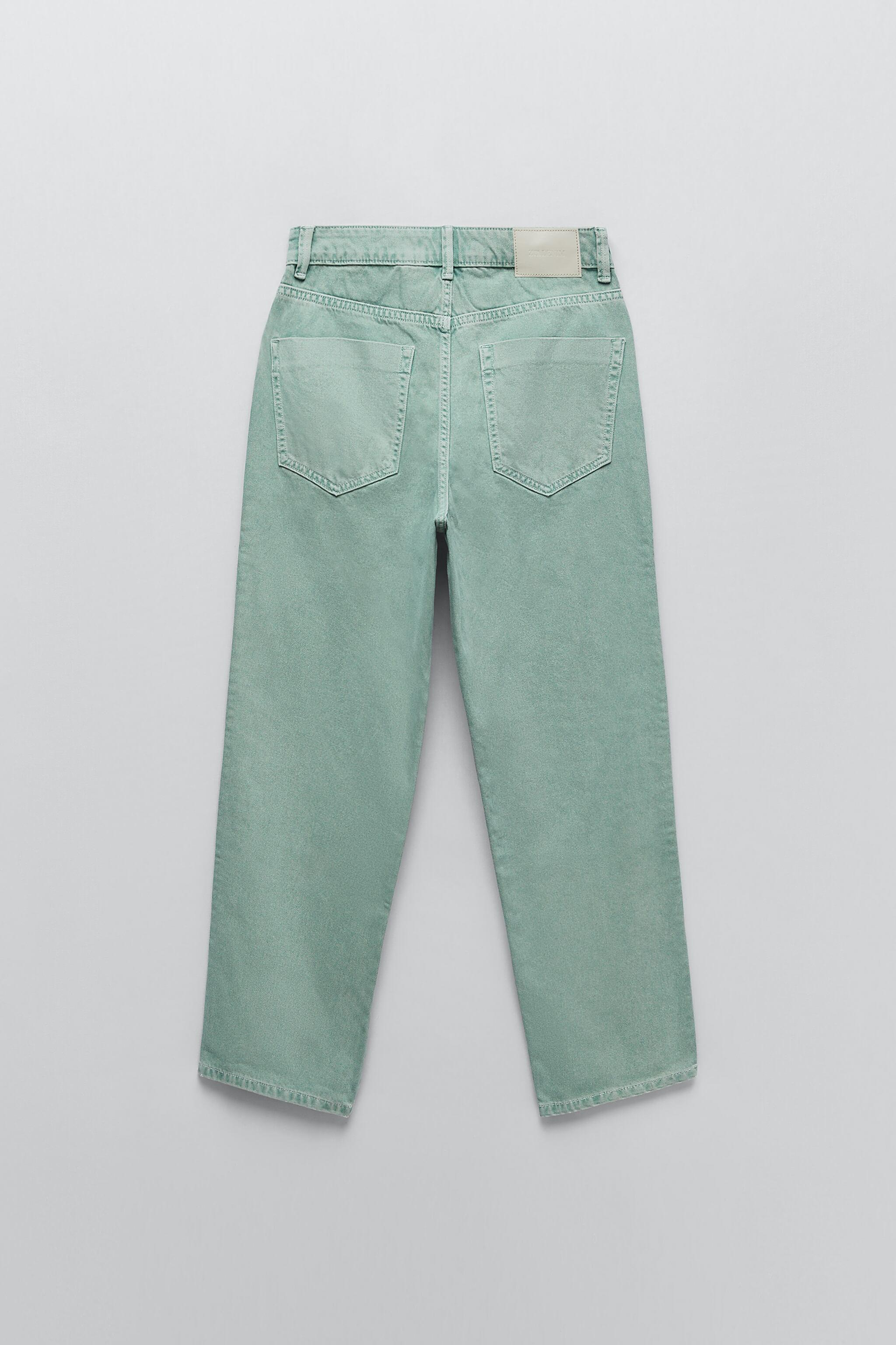 Z1975 HIGH RISE STRAIGHT JEANS 8