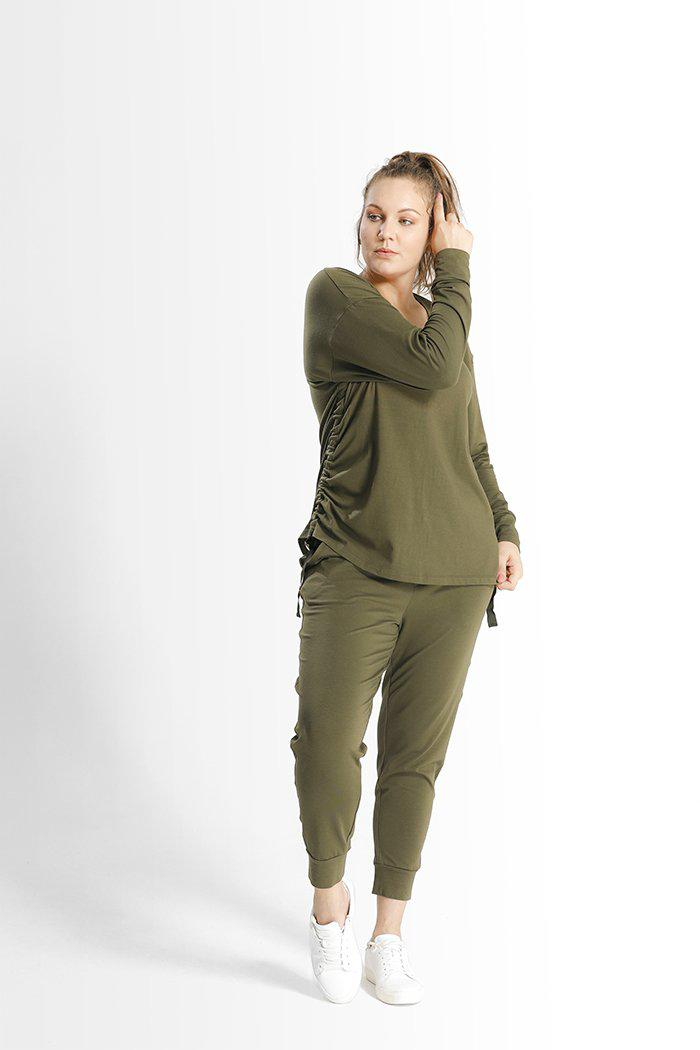 Kathy Top // Army Green 1