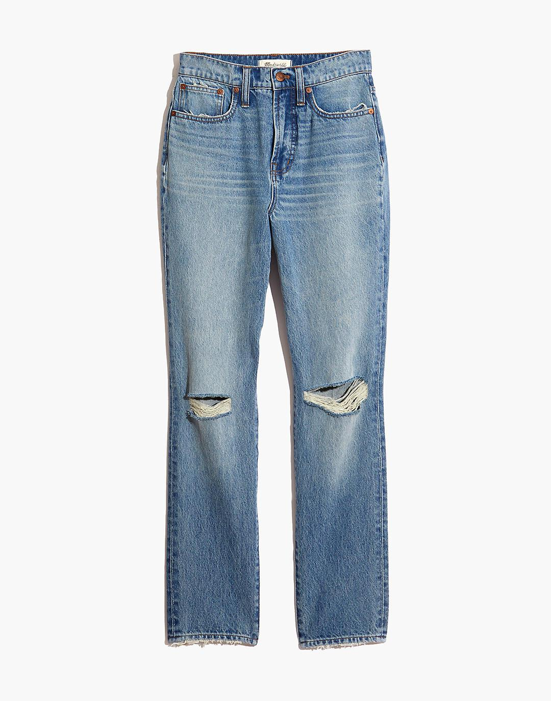 The Perfect Vintage Jean in Phillips Wash: Knee-Rips Edition 5