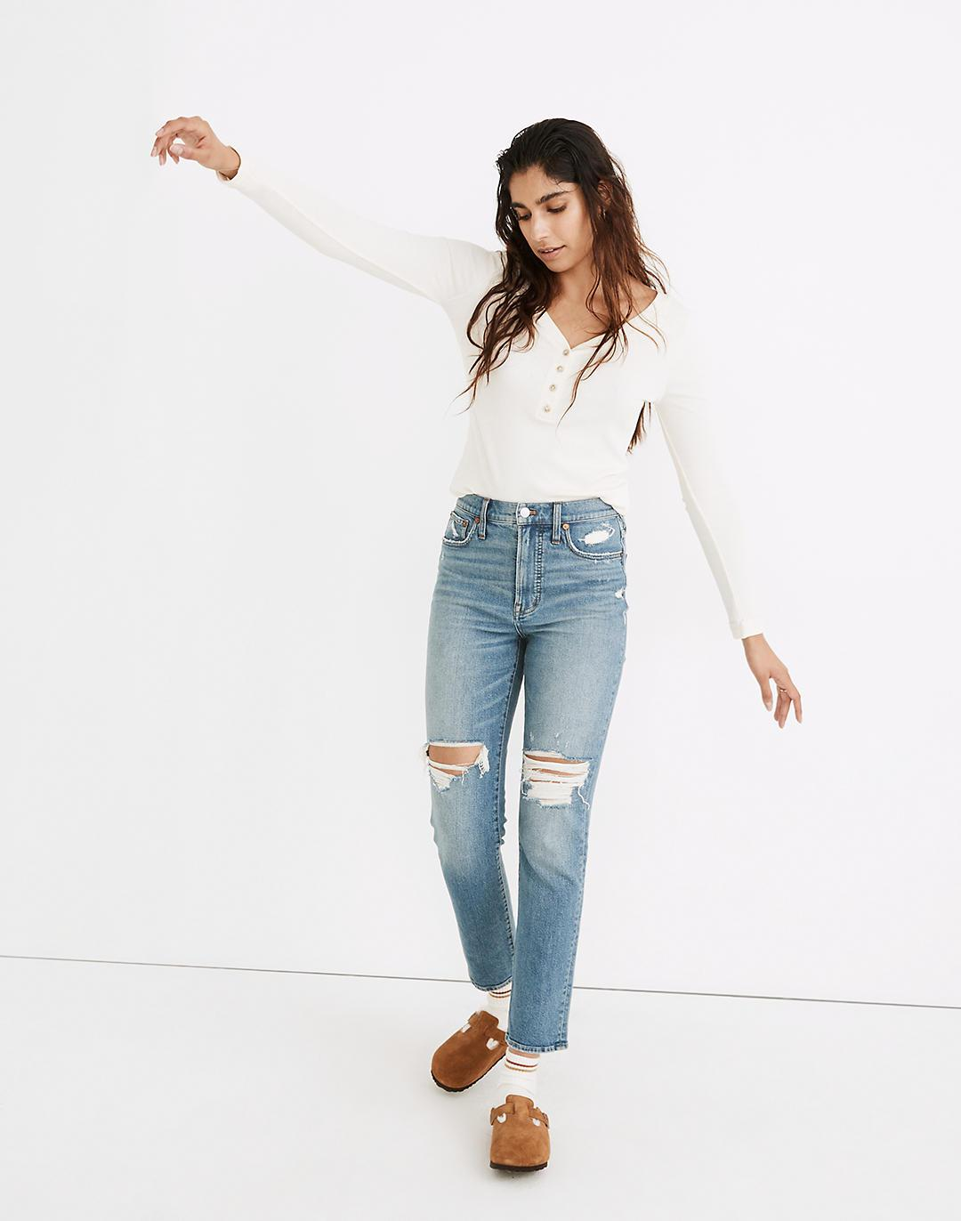 The Perfect Vintage Jean in Denman Wash