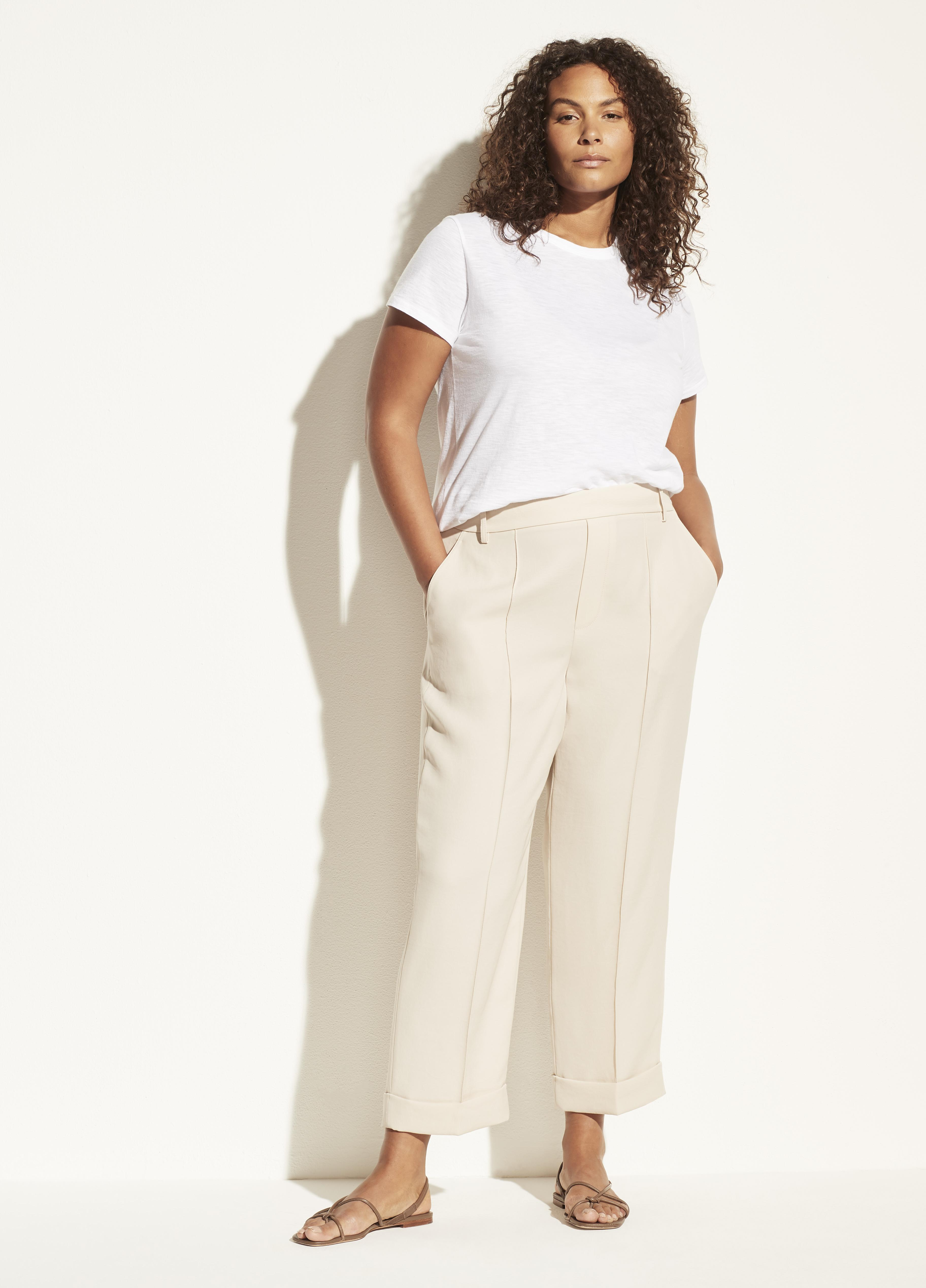 Cuffed Tapered Pull On Pant 0
