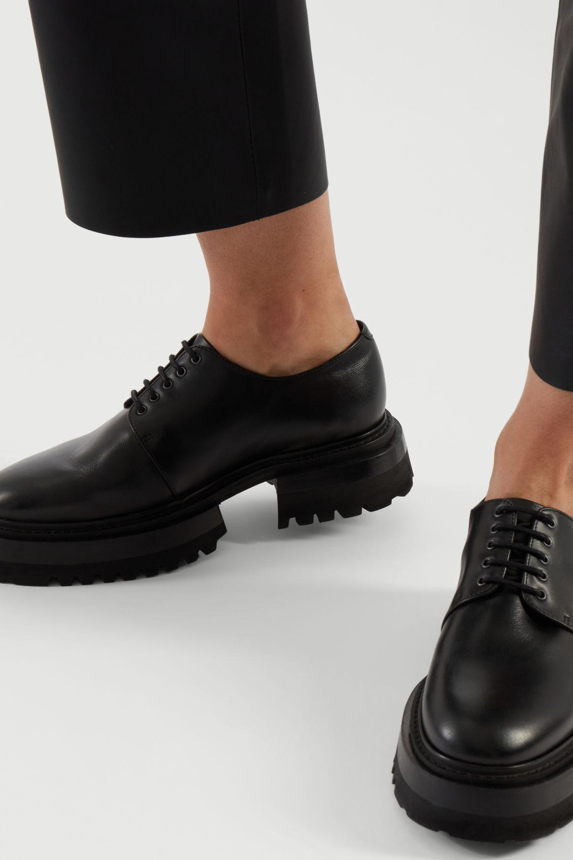 CHUNKY DERBY SHOES 7