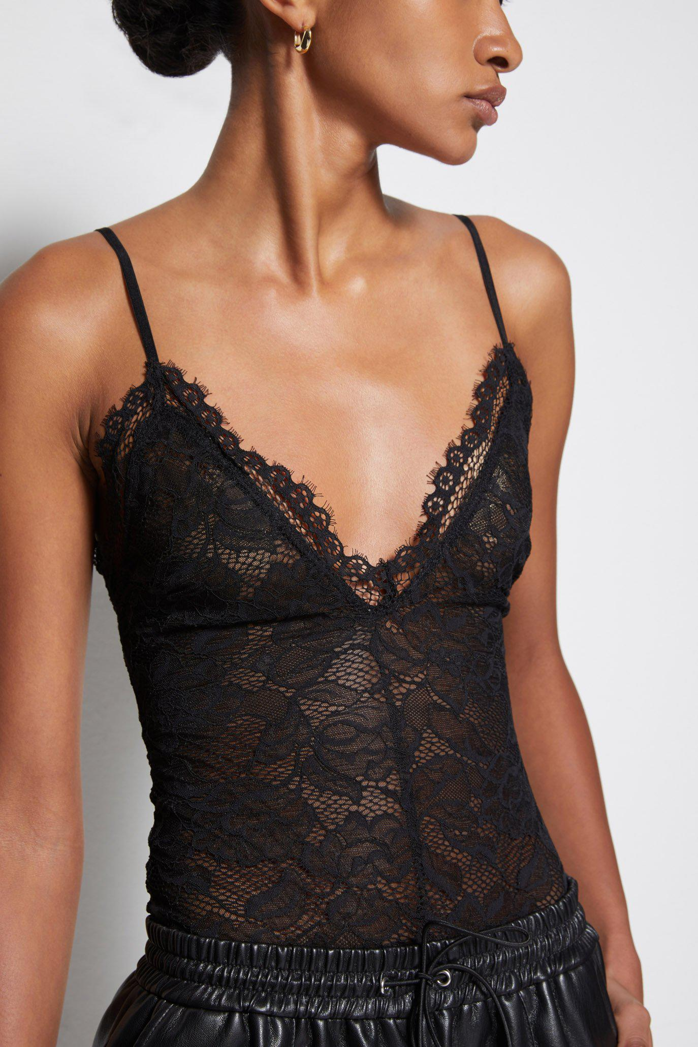 Stacey Recycled Lace Bodysuit 1