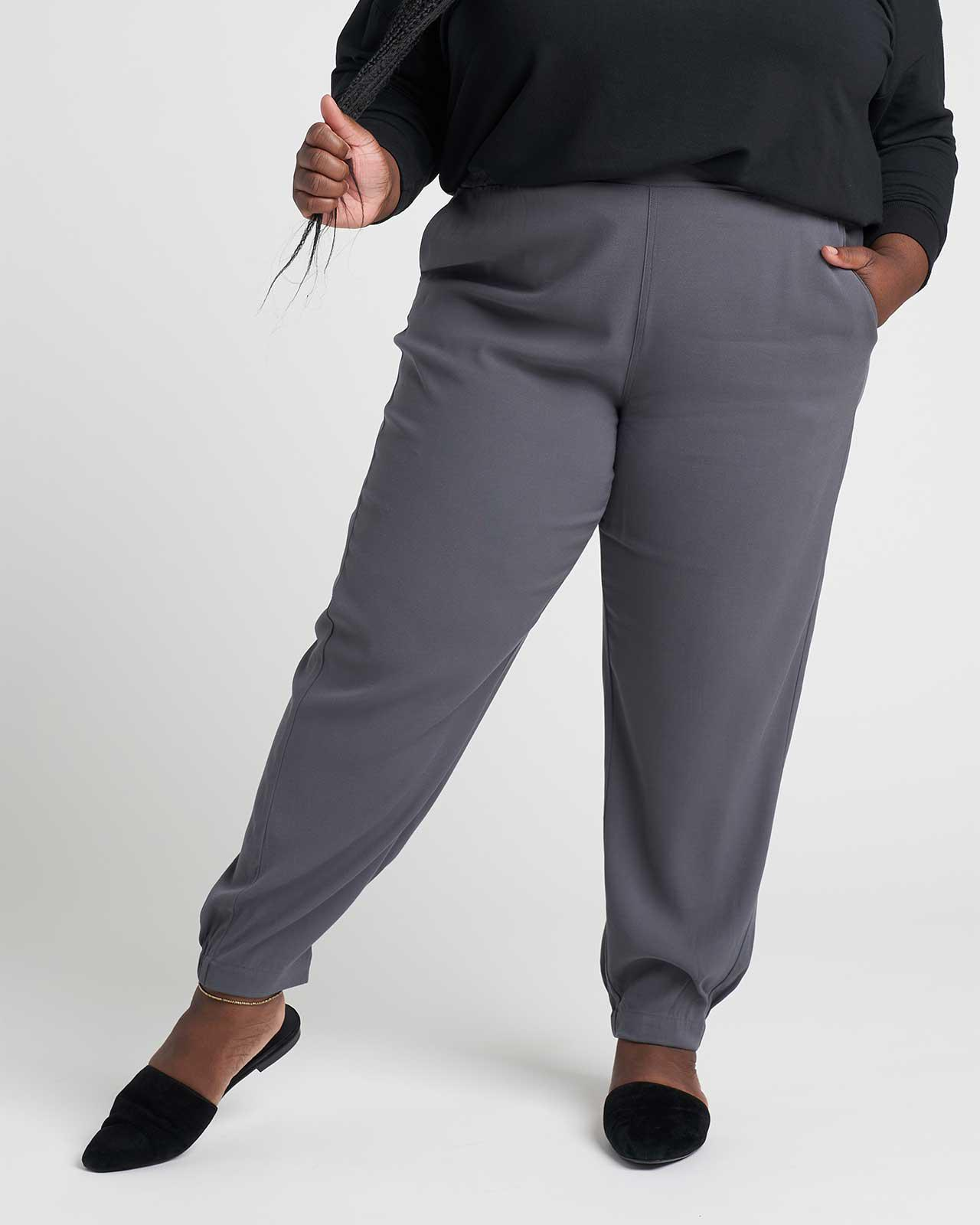 Dylan Luxe Twill Joggers