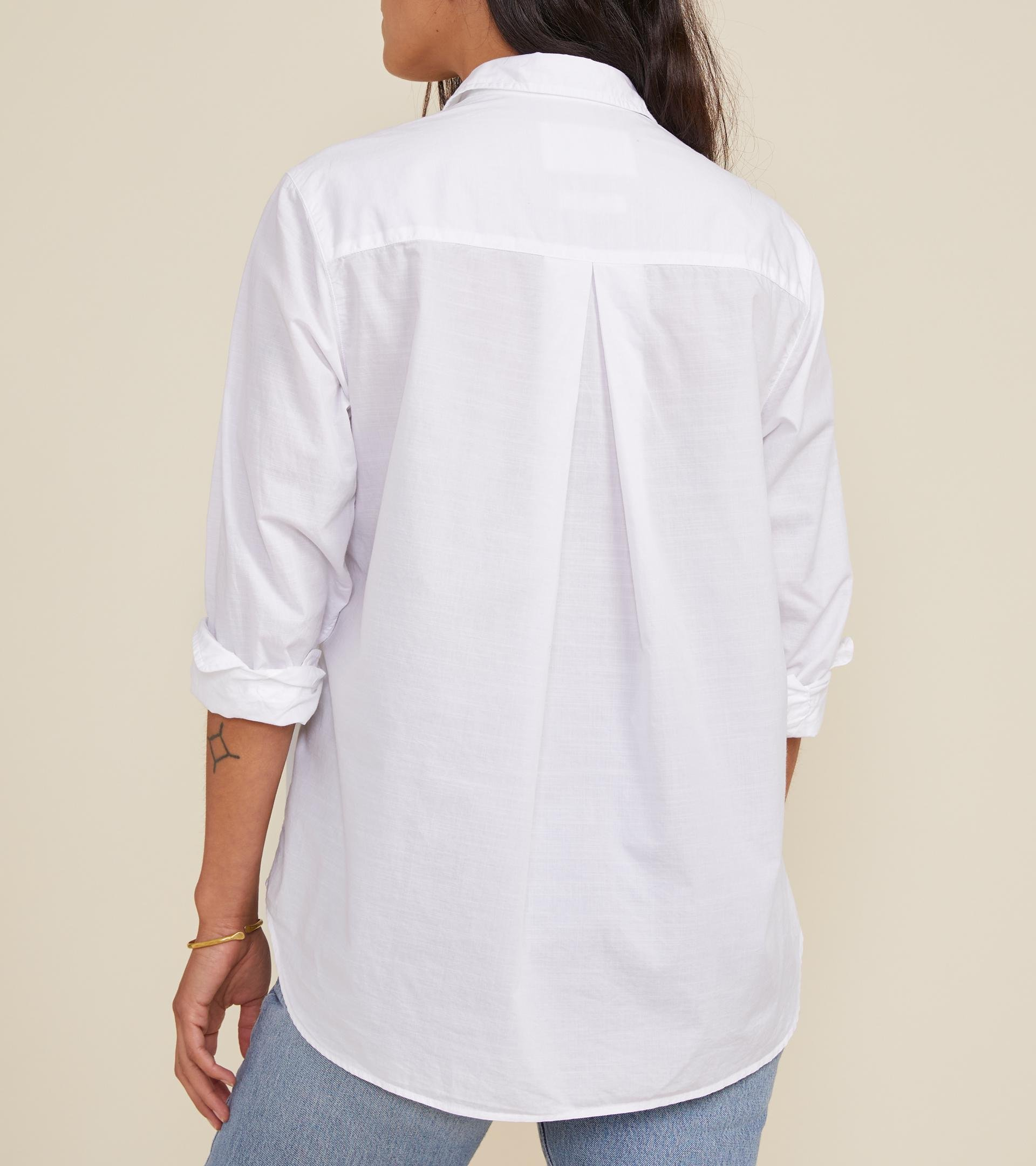 The Hero Classic White, Washed Cotton 1
