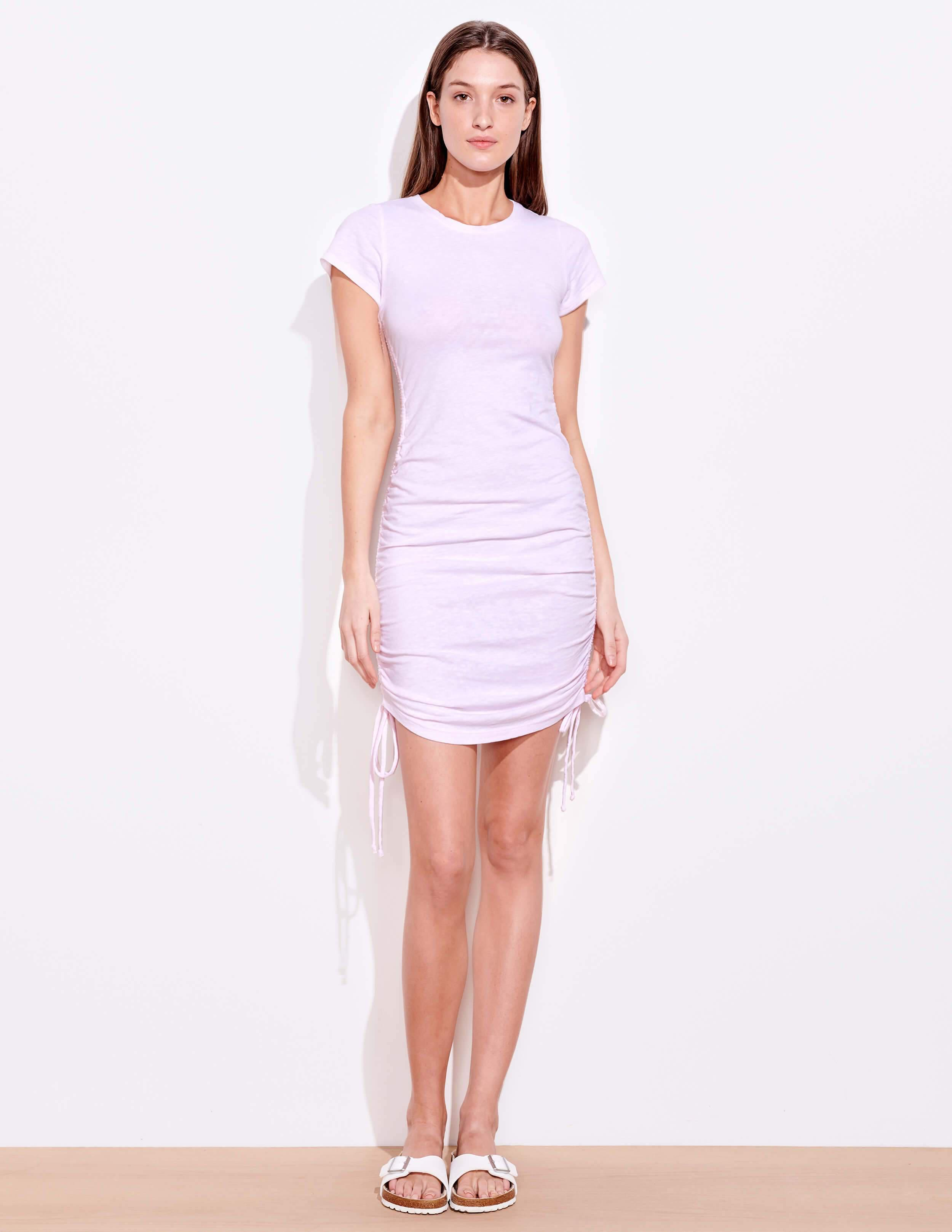 Short Sleeve Cinched Dress 1