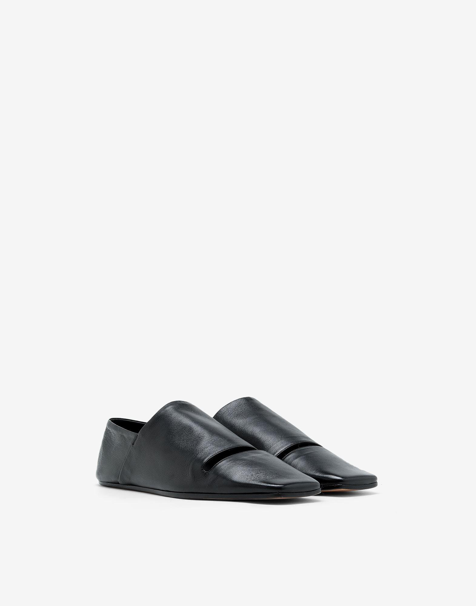 Leather mules 1
