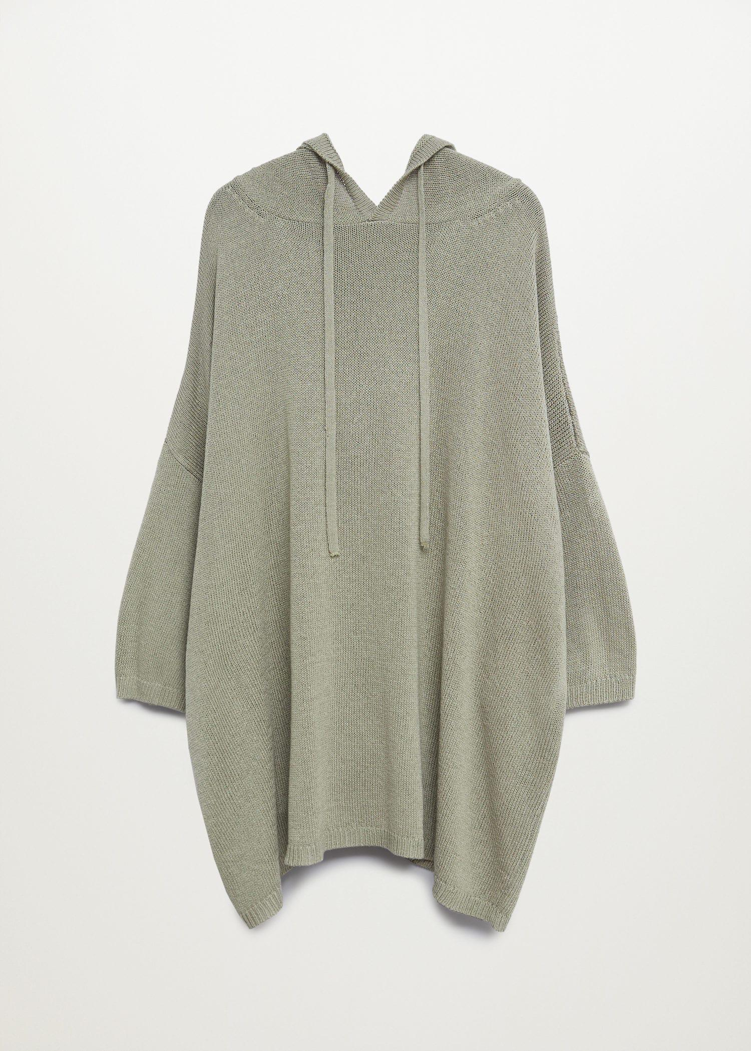 Oversized hooded sweater 7
