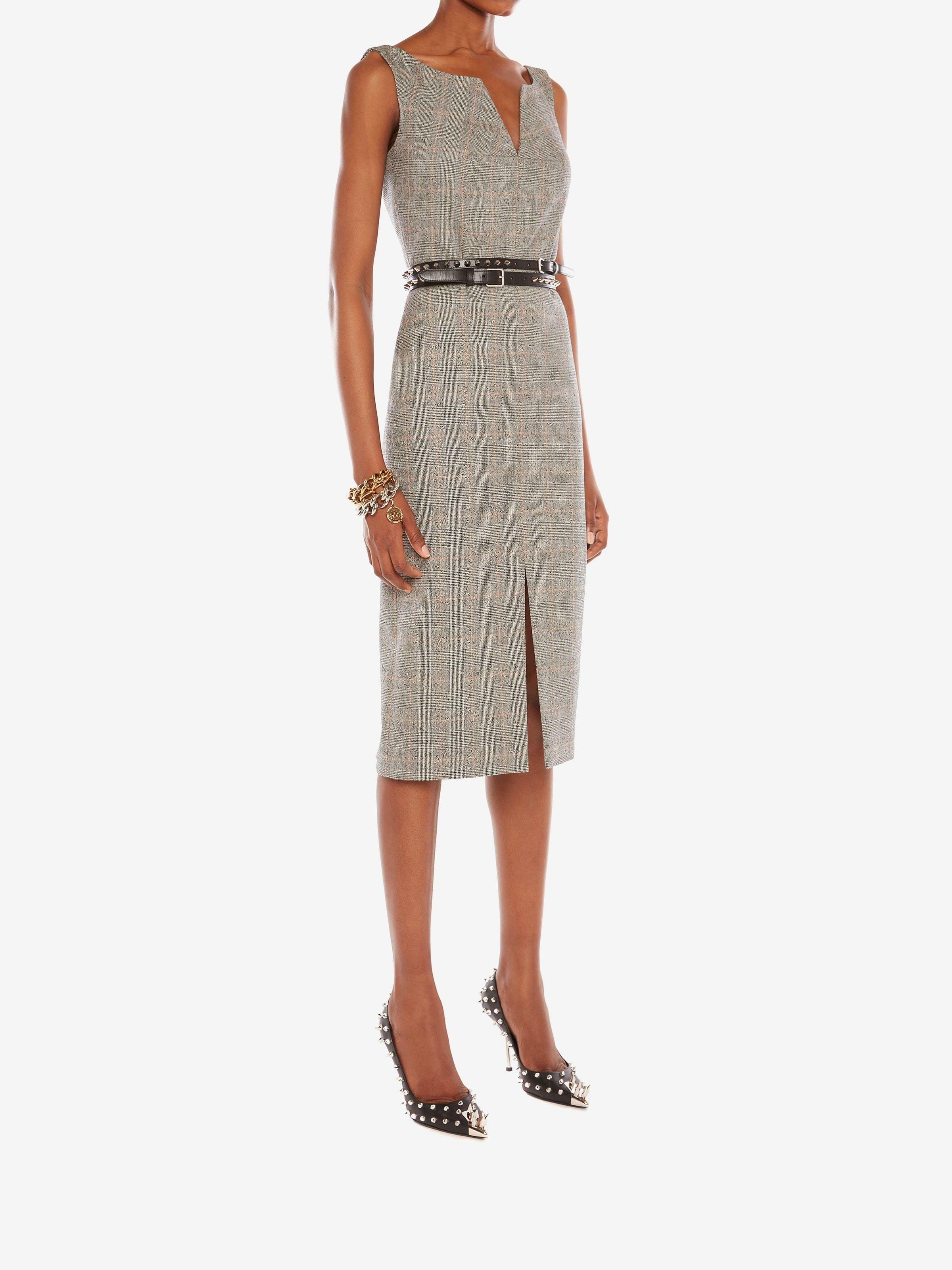 Prince of Wales Pencil Dress 1