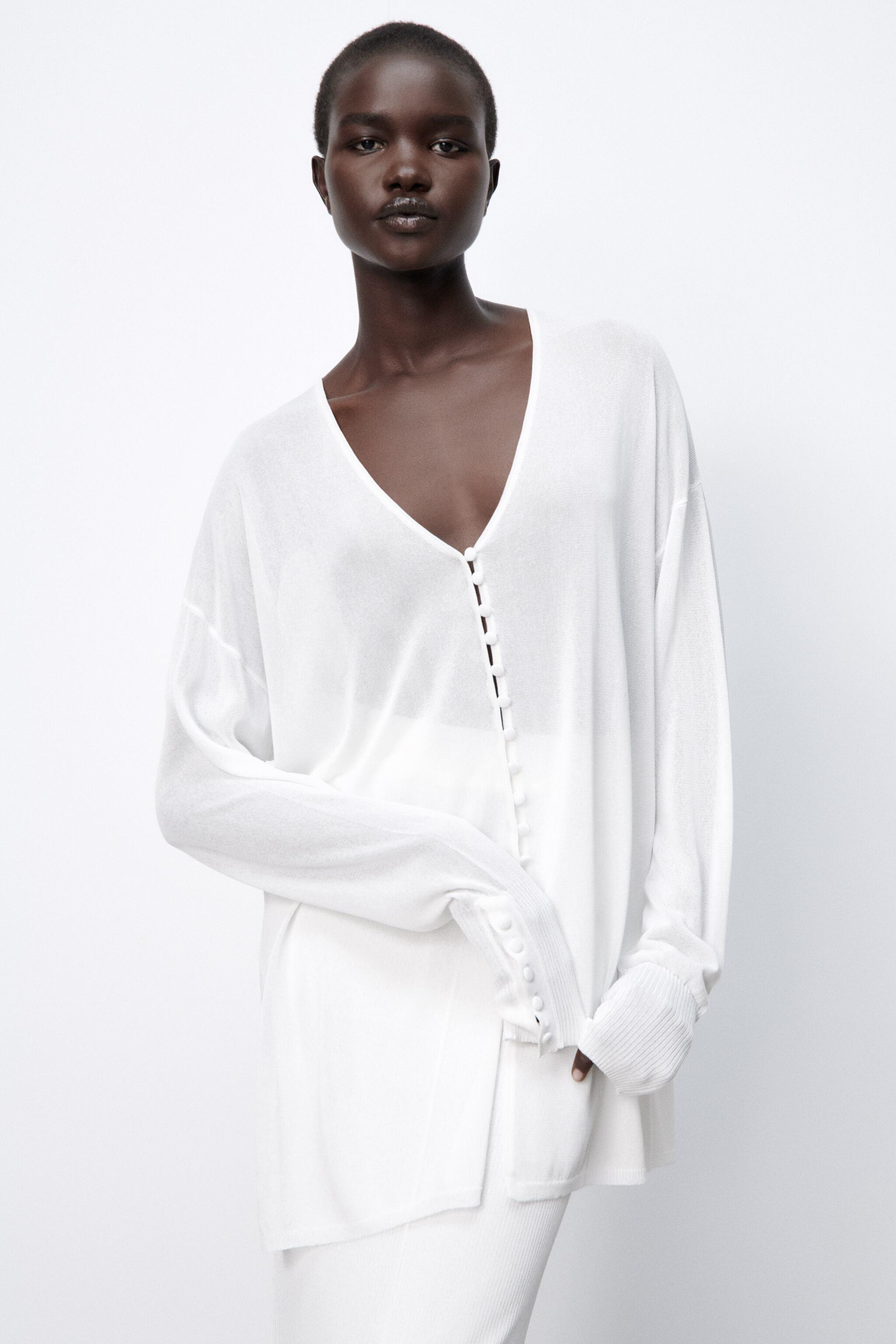 SEMI-SHEER KNIT BLOUSE LIMITED EDITION 1