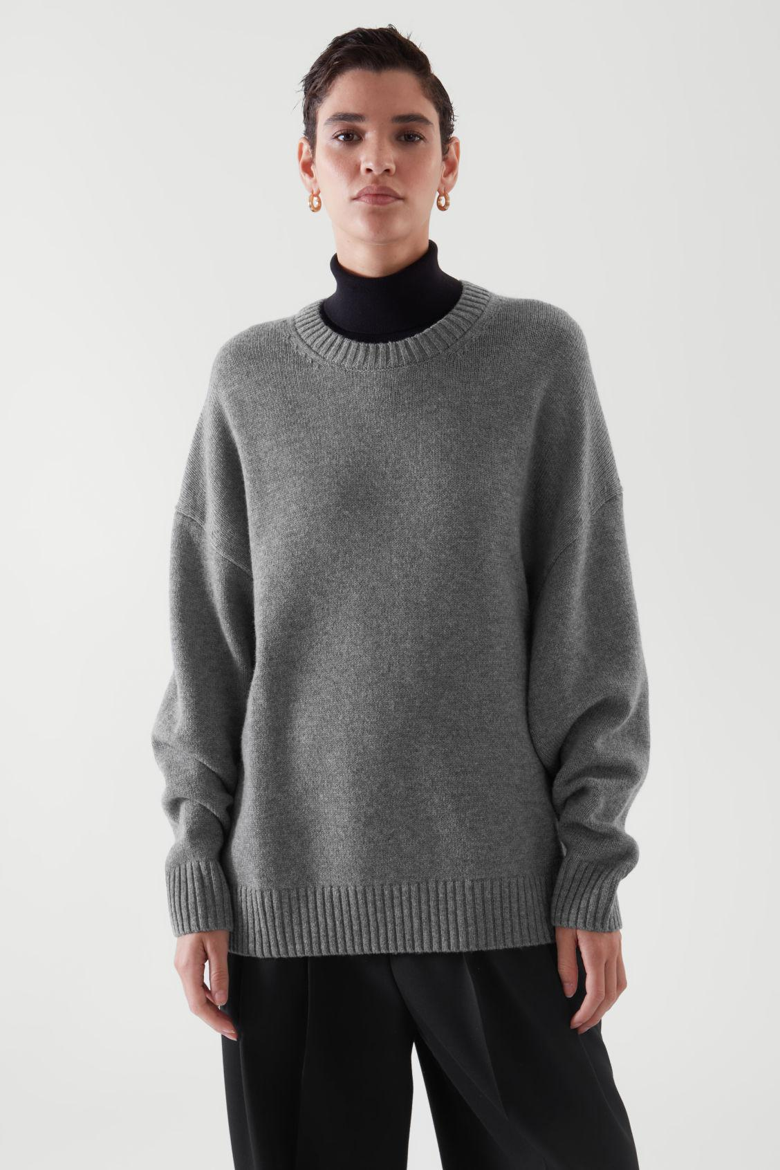 RELAXED-FIT WOOL JUMPER