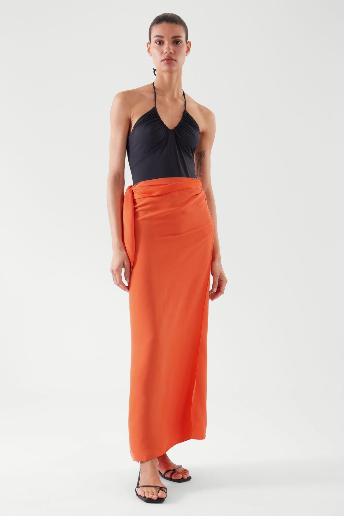 KNOTTED SARONG