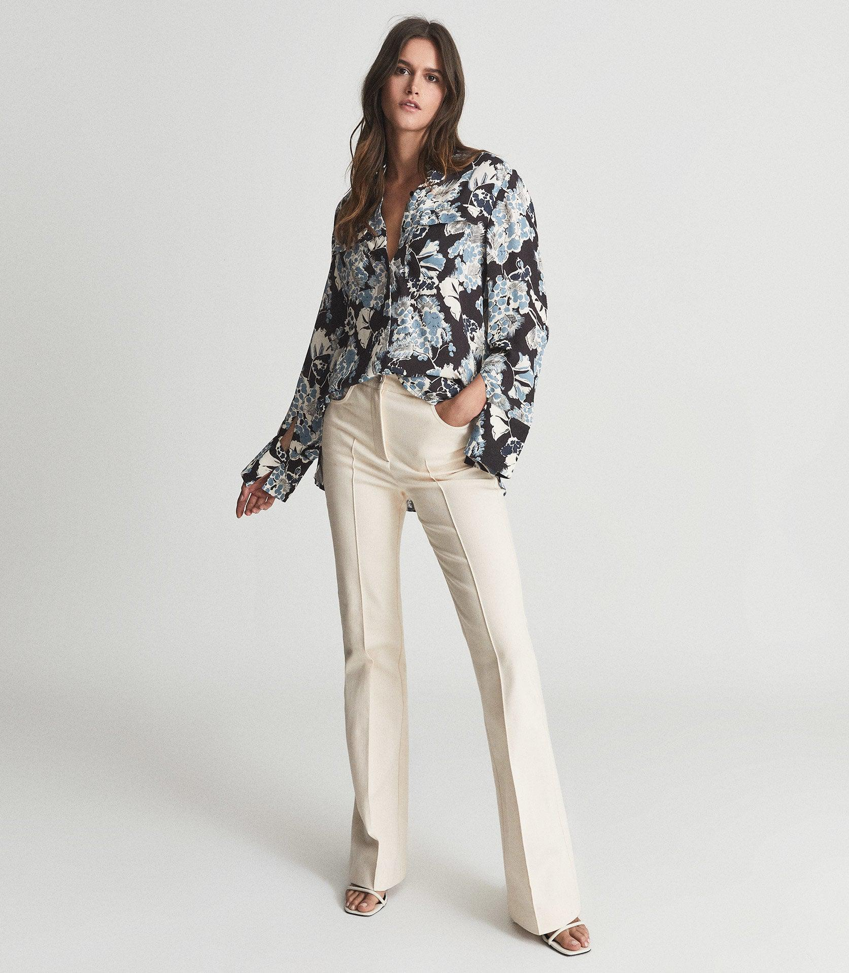 MIKA - FLORAL PRINTED BLOUSE