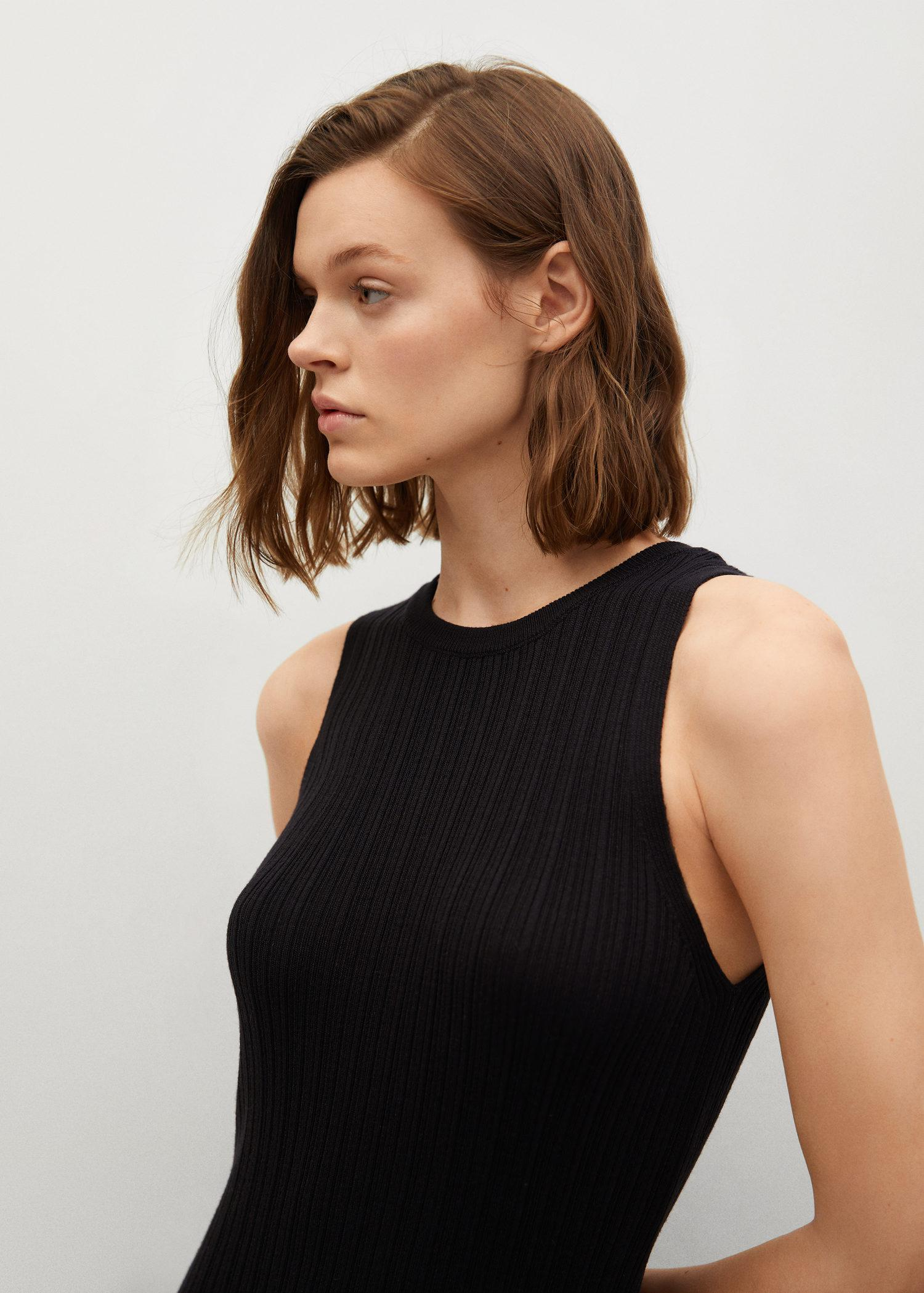 Tailored ribbed dress 3