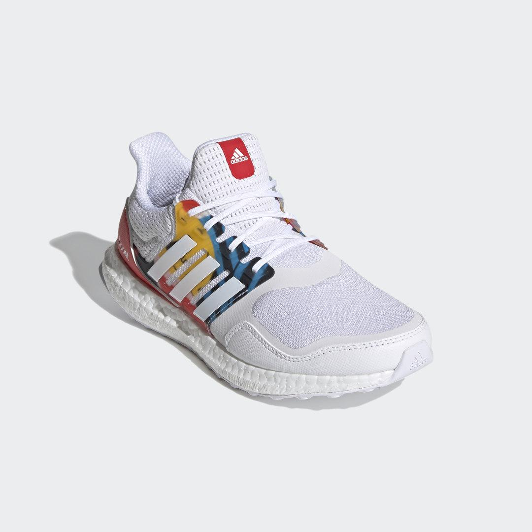 Ultraboost S&L DNA Shoes White 8 - Womens Running Shoes
