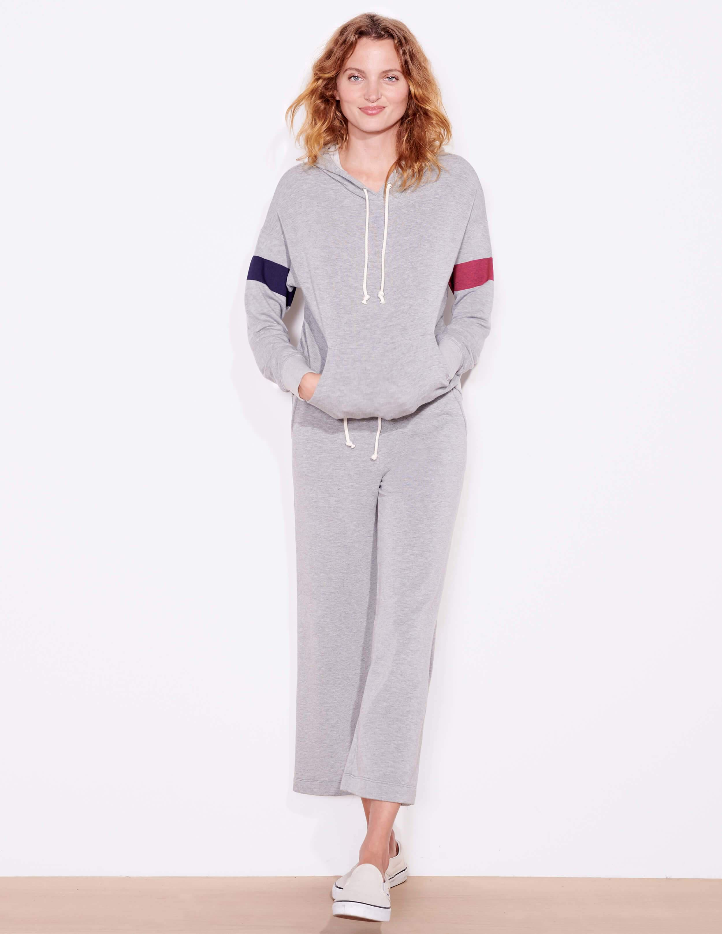 Cropped Flare Sweatpants 3