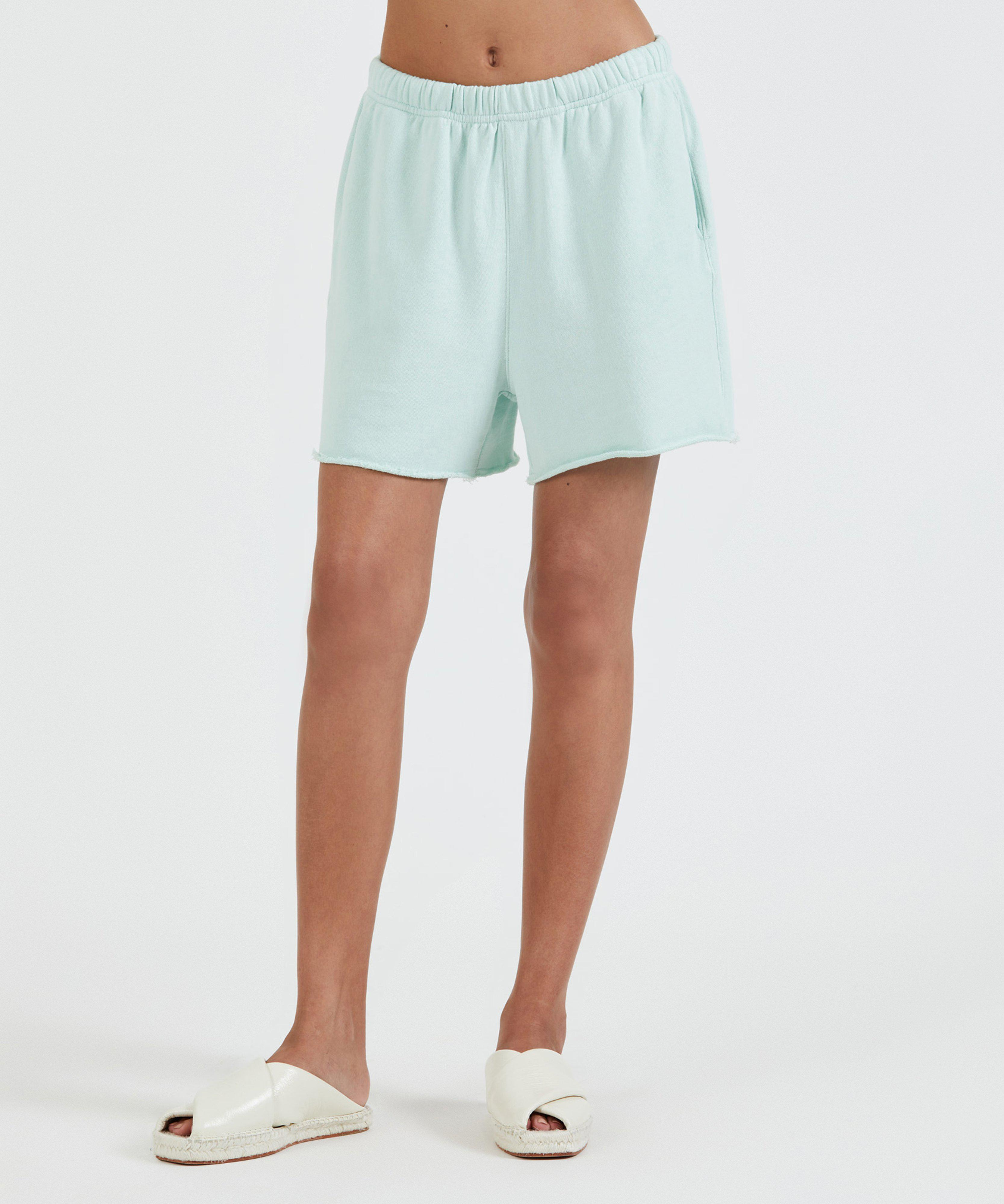 French Terry Pull-On Short - Mint