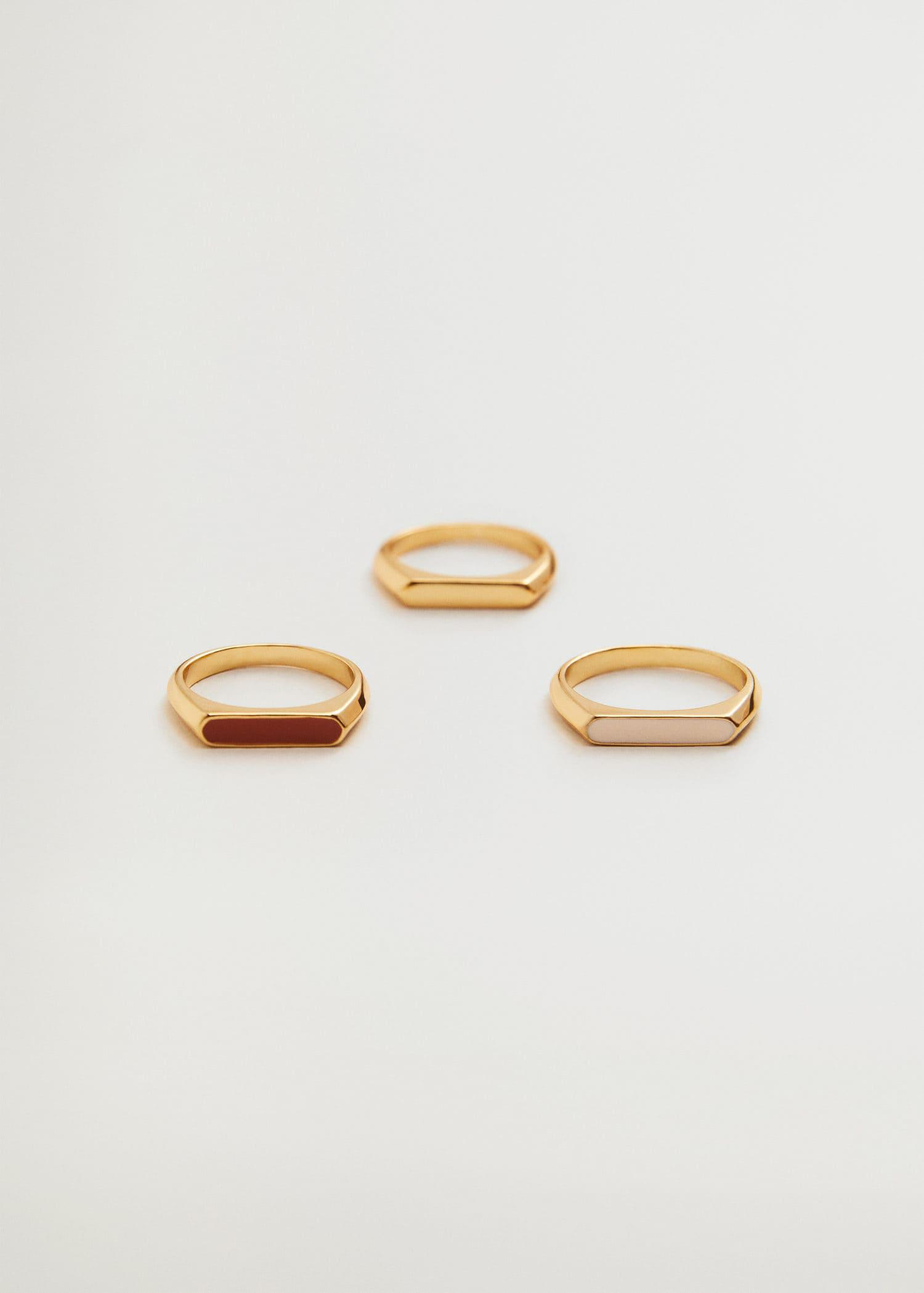 Combined ring 3 set
