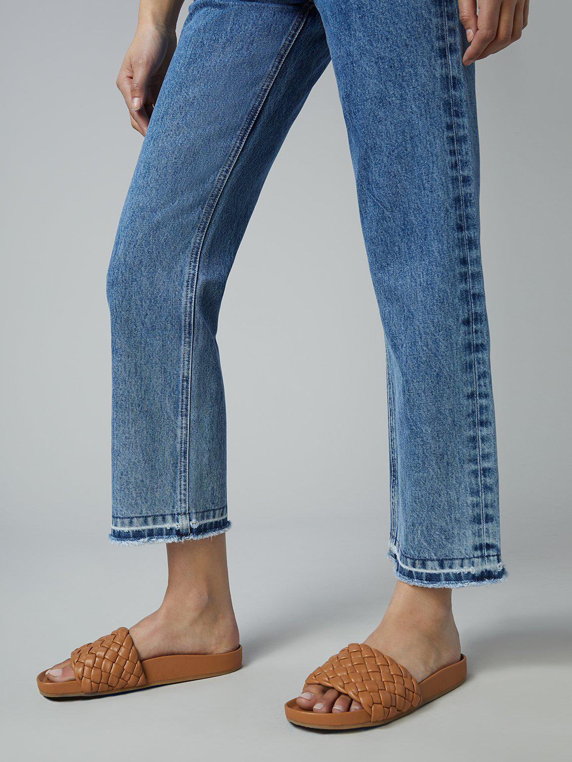 Emilie Straight Ultra High Rise Vintage Ankle | Sustainable Mid 4