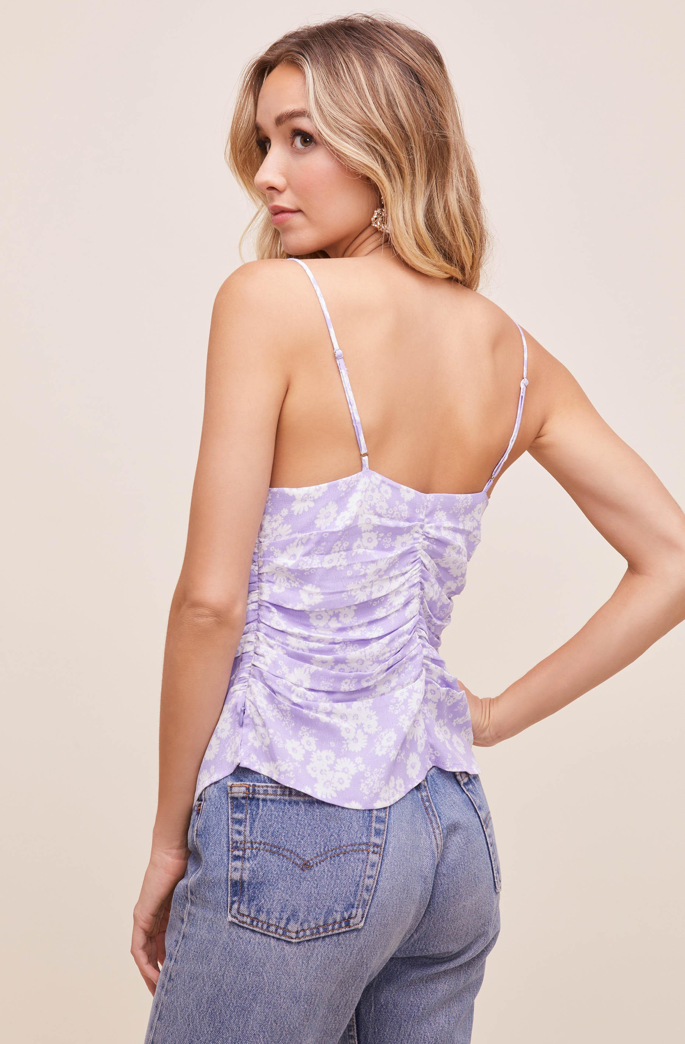 Ruched Floral Cami 6