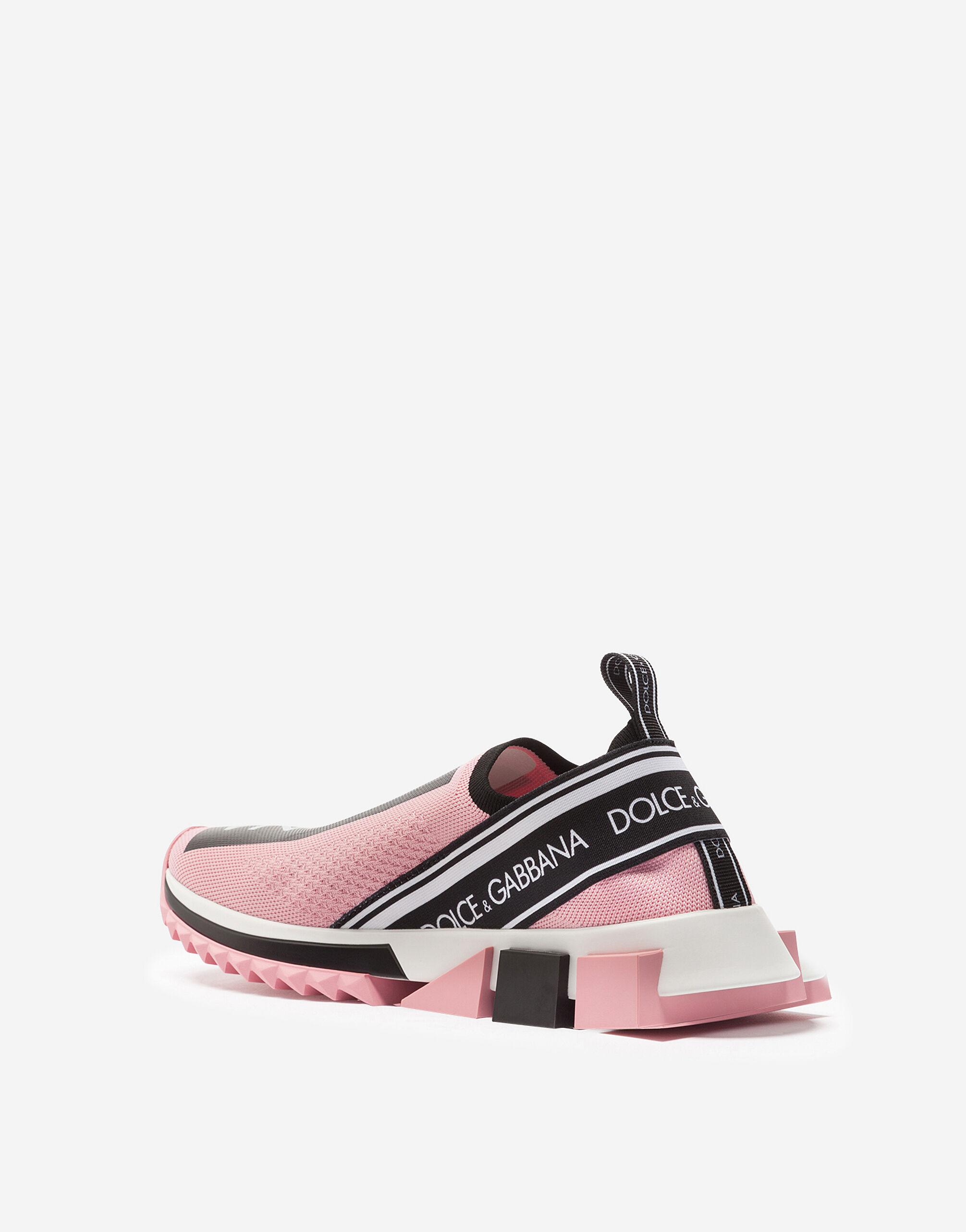 Stretch jersey Sorrento sneakers with logo 4