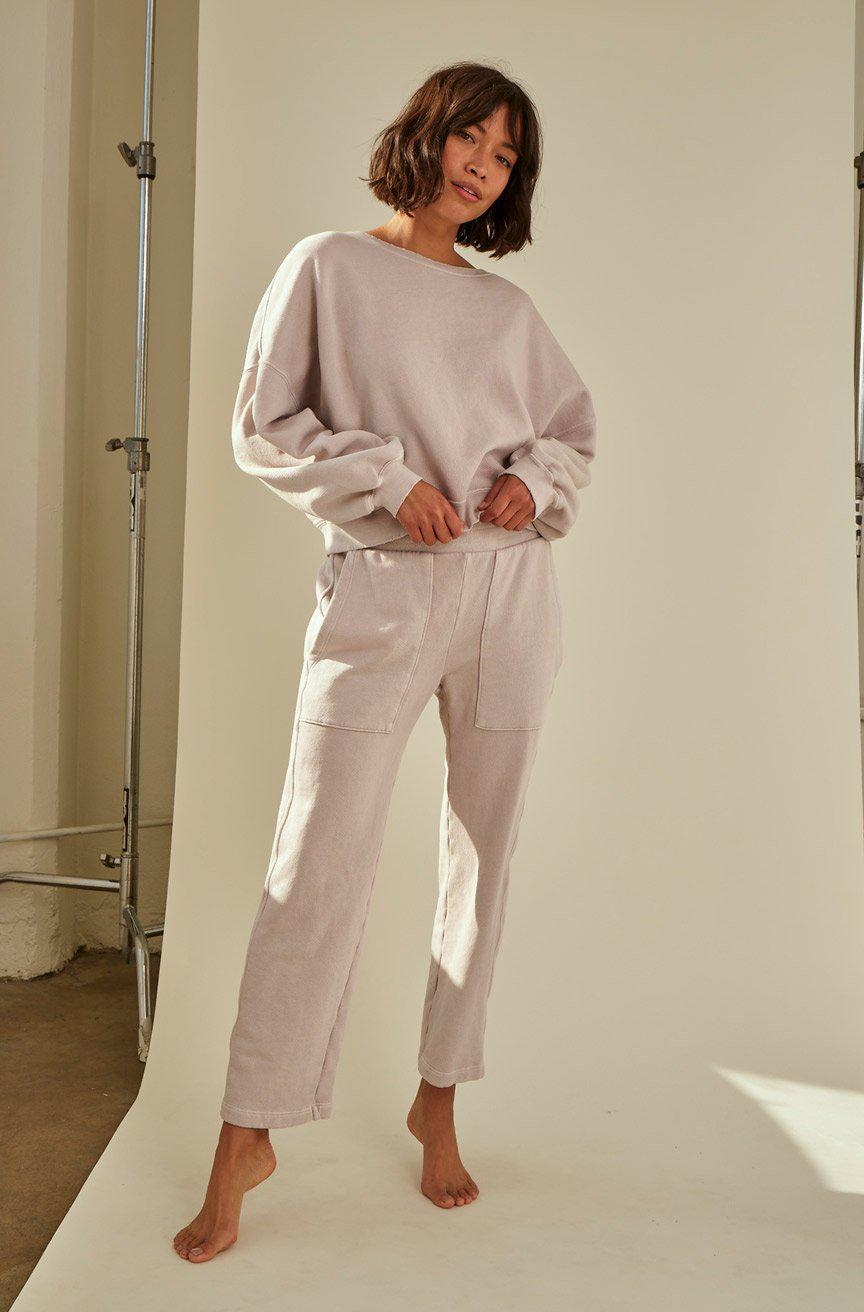 ZOEY SWEATPANT FAWN