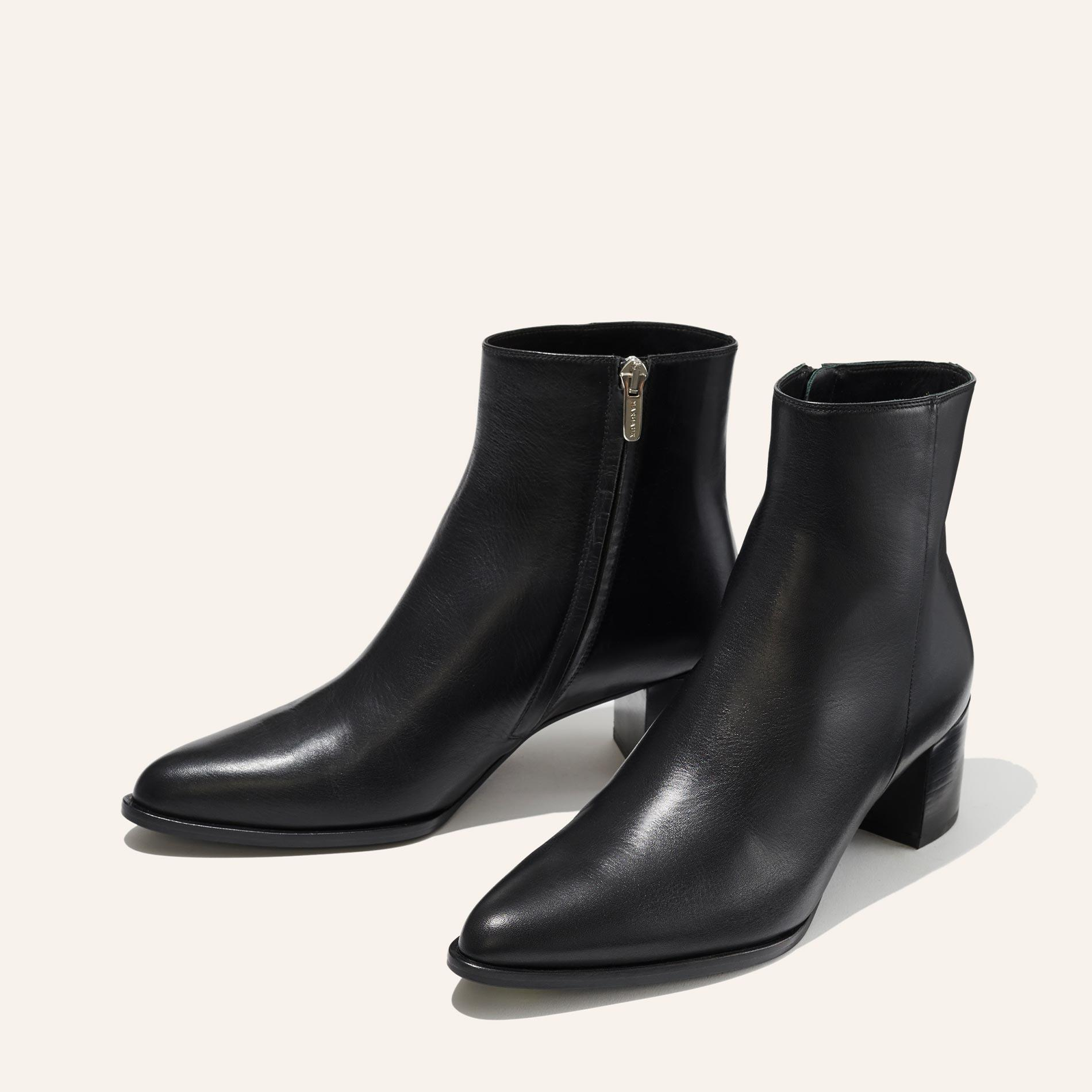 The Downtown Boot - Black Calf 1