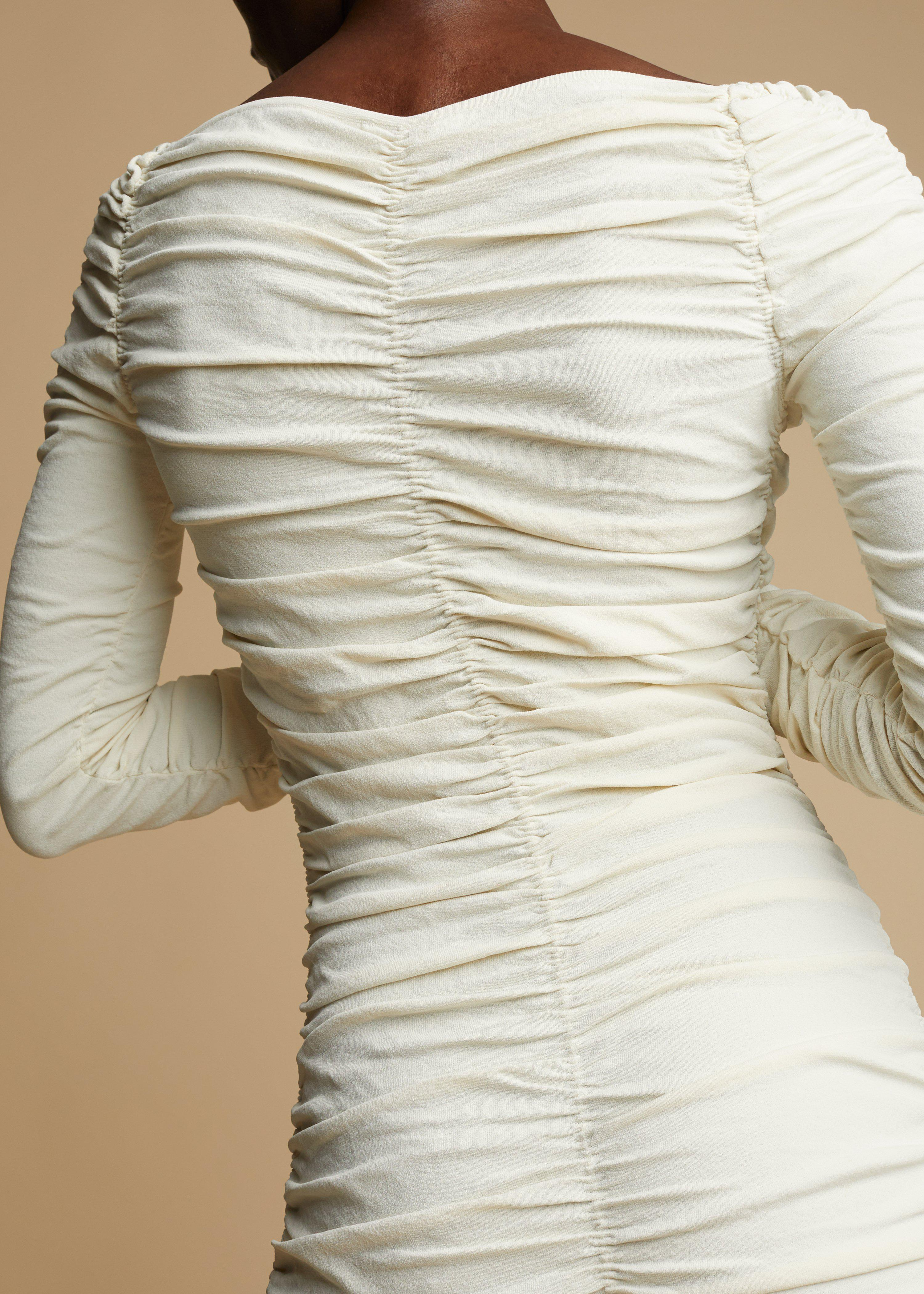 The Charmaine Dress in Ivory 4