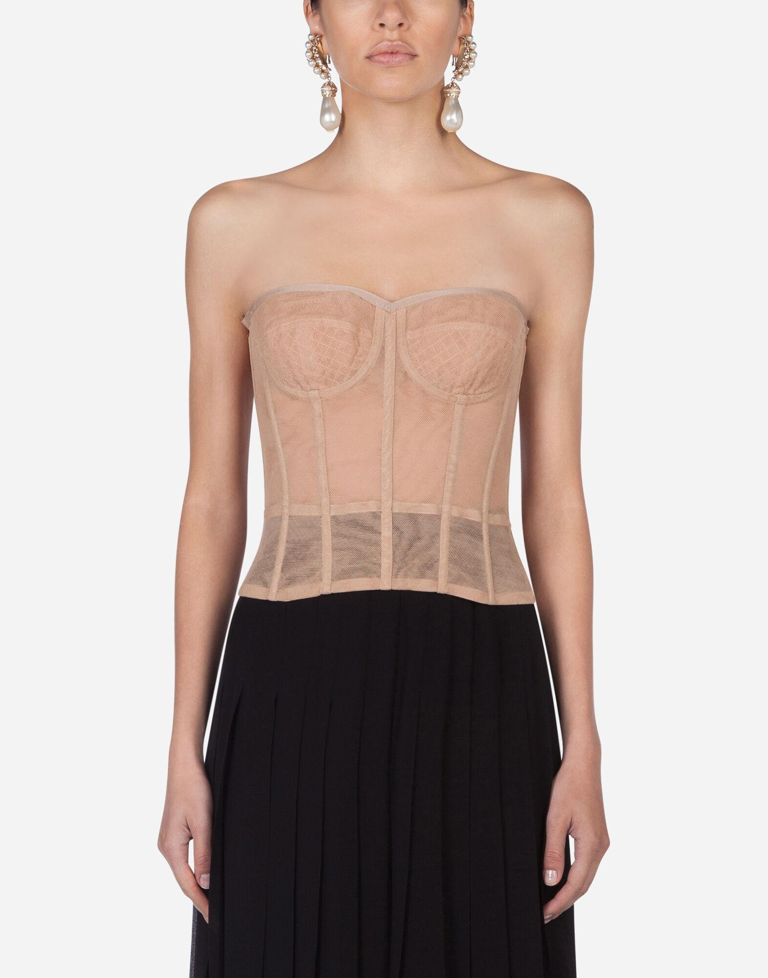 Tulle bustier