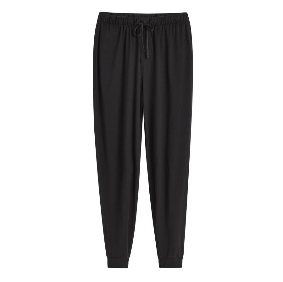 Women's Pima Tapered Pant in Black | Size: