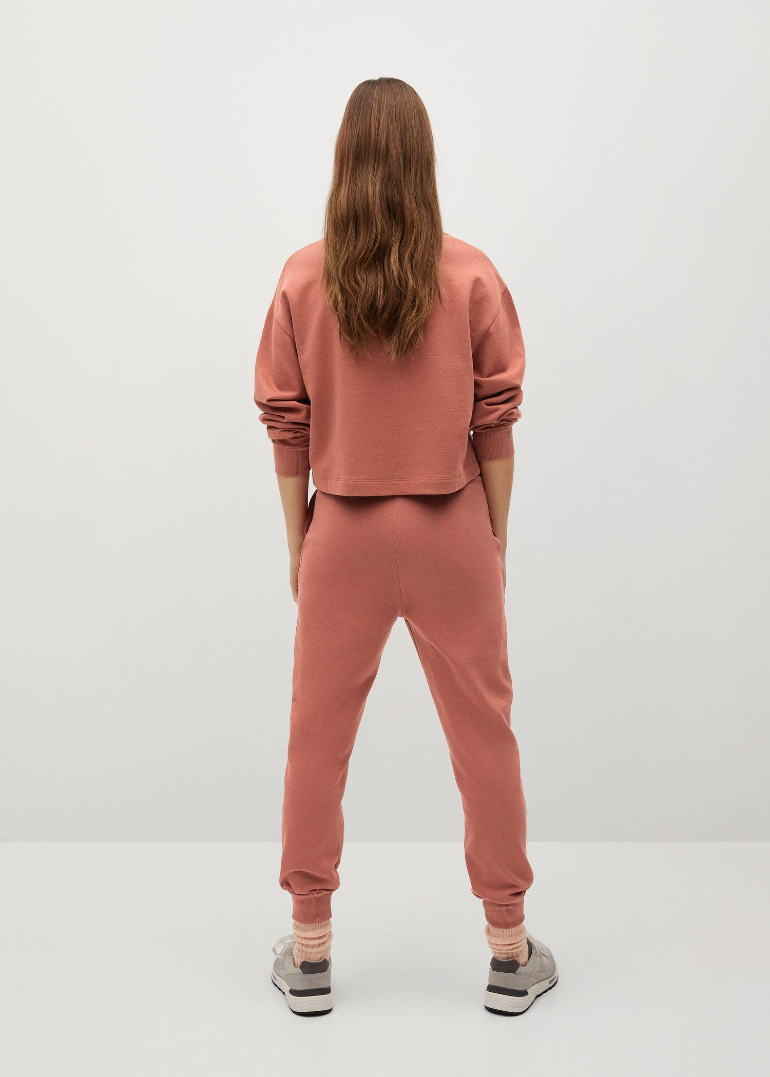 Sustainable cotton jogger pants 2