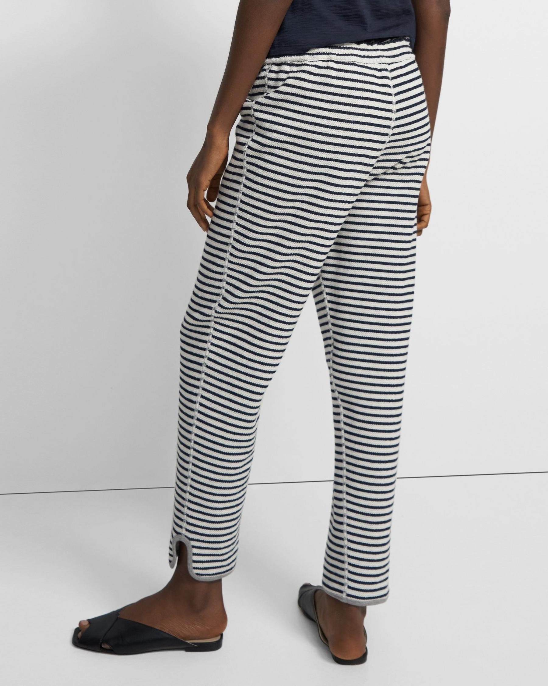 Reversible Notch Jogger in Terry Cotton 1