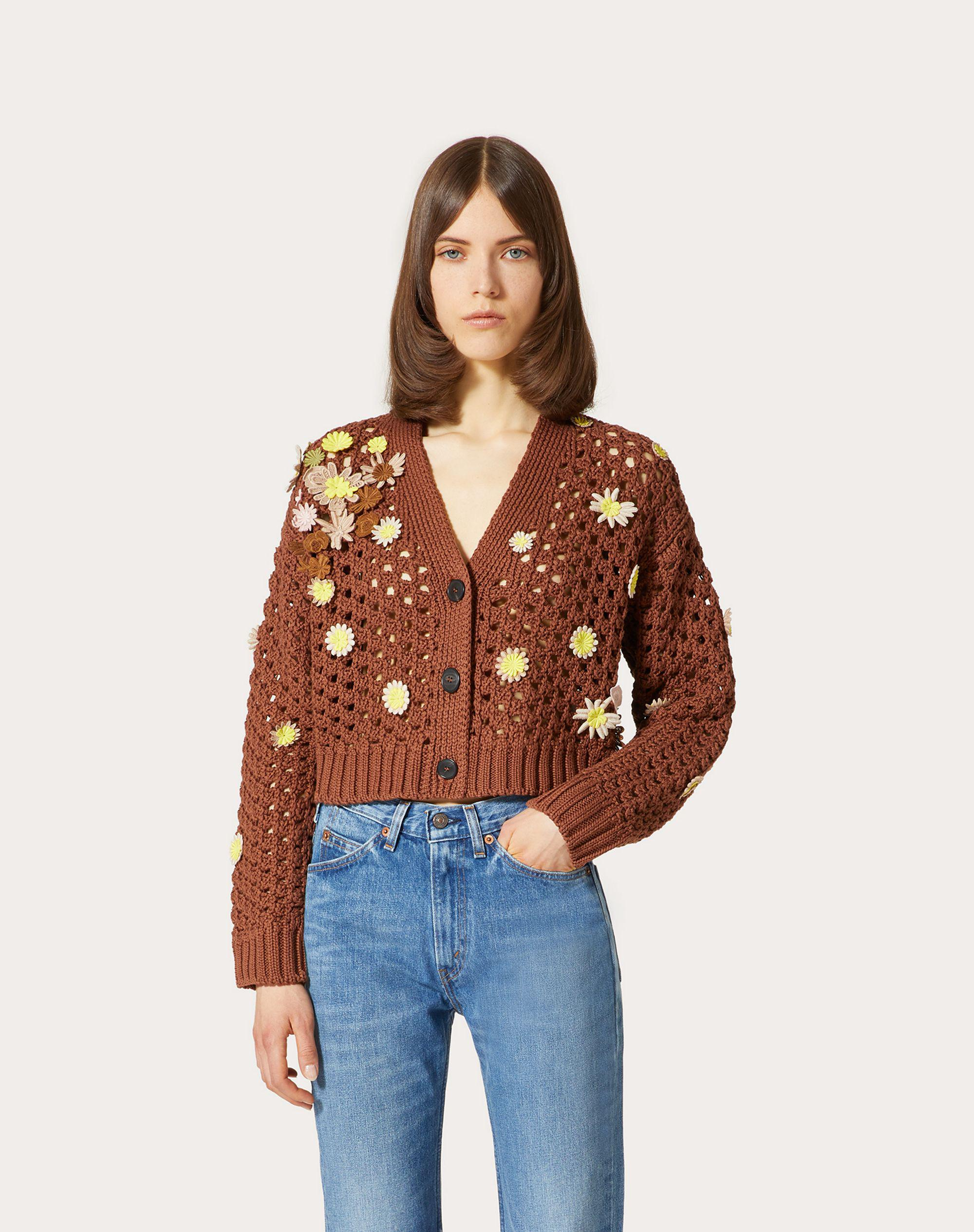 EMBROIDERED COTTON CARDIGAN 1