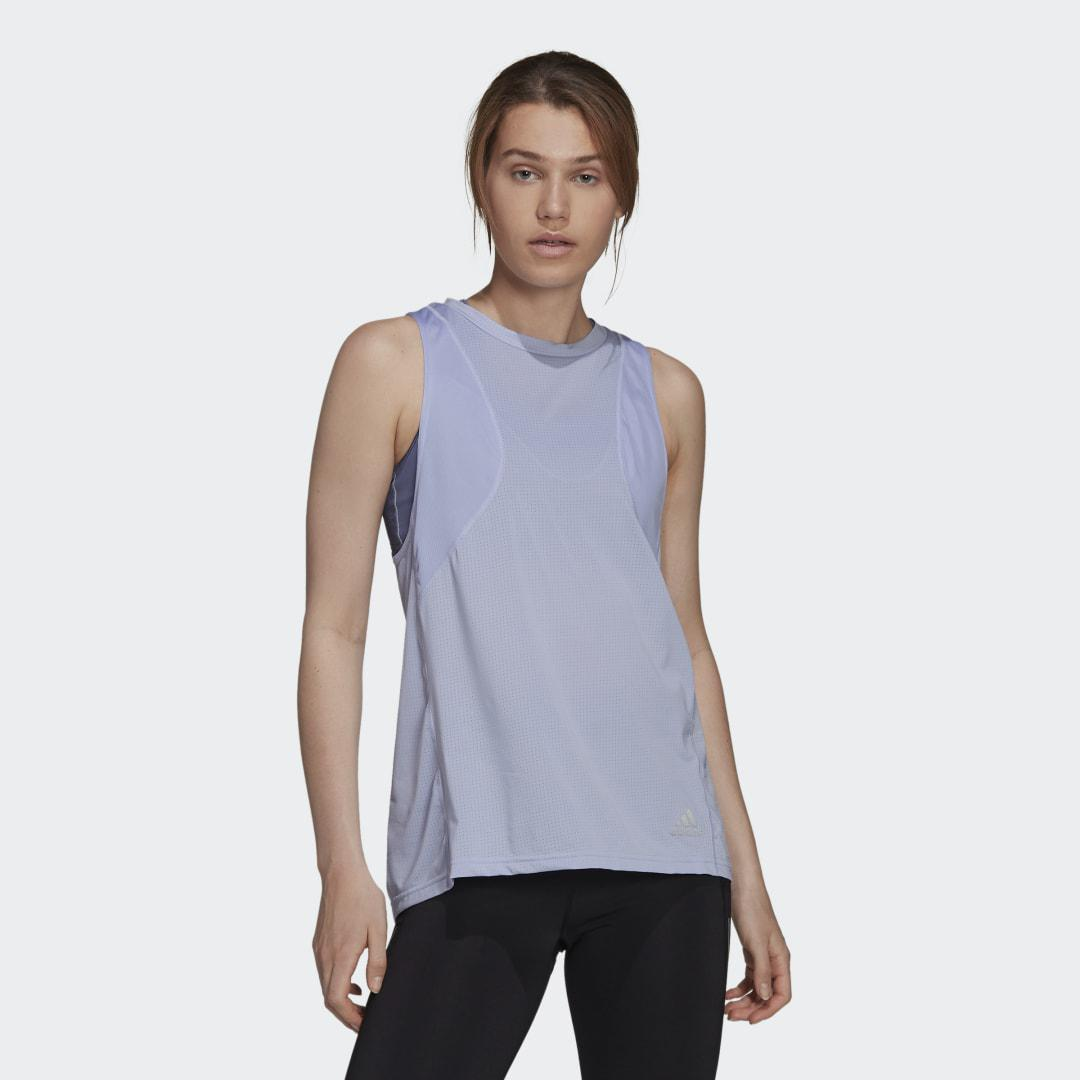 Own The Run Tank Top Violet Tone