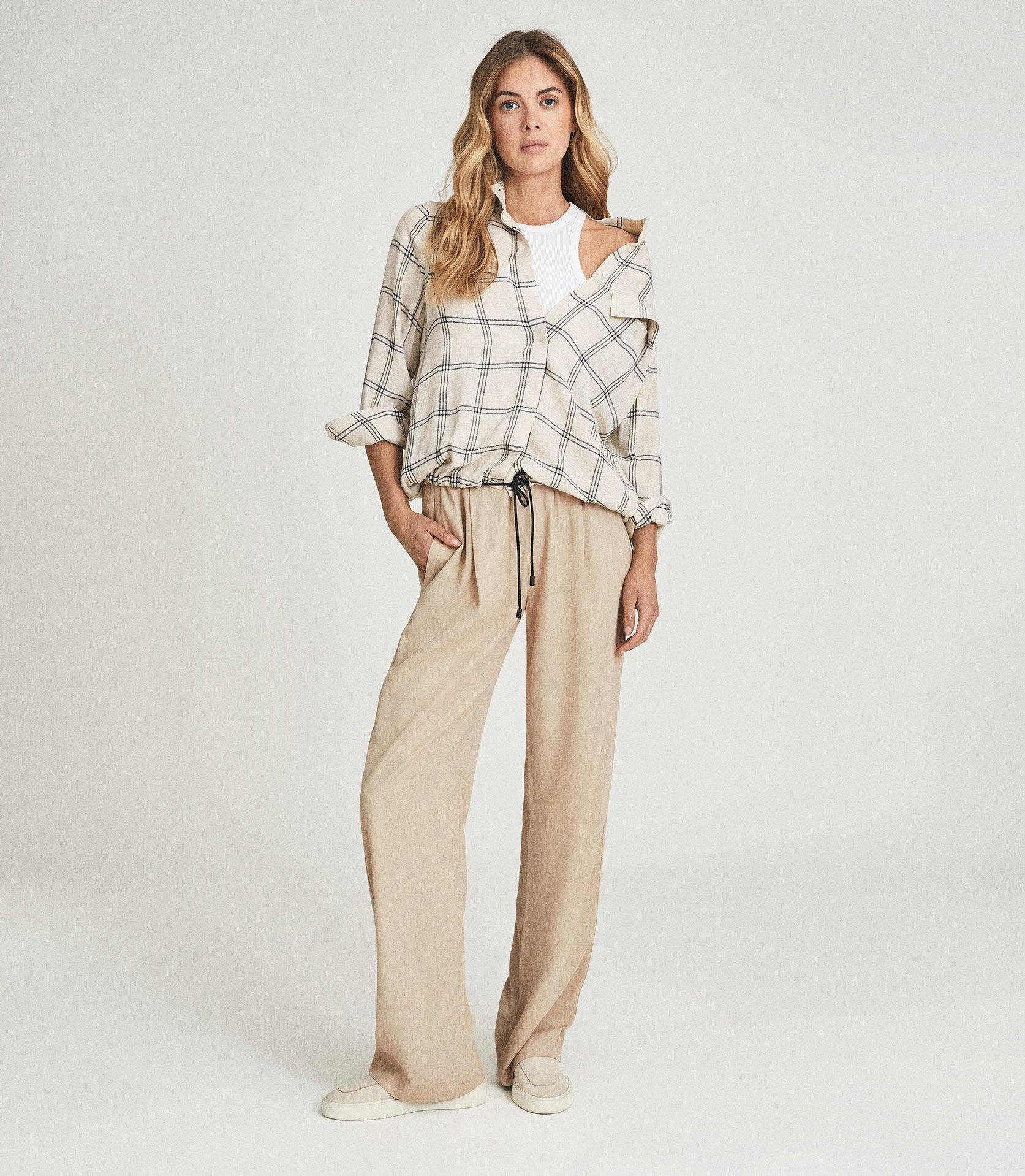TYLER - RELAXED FIT CHECKED SHIRT
