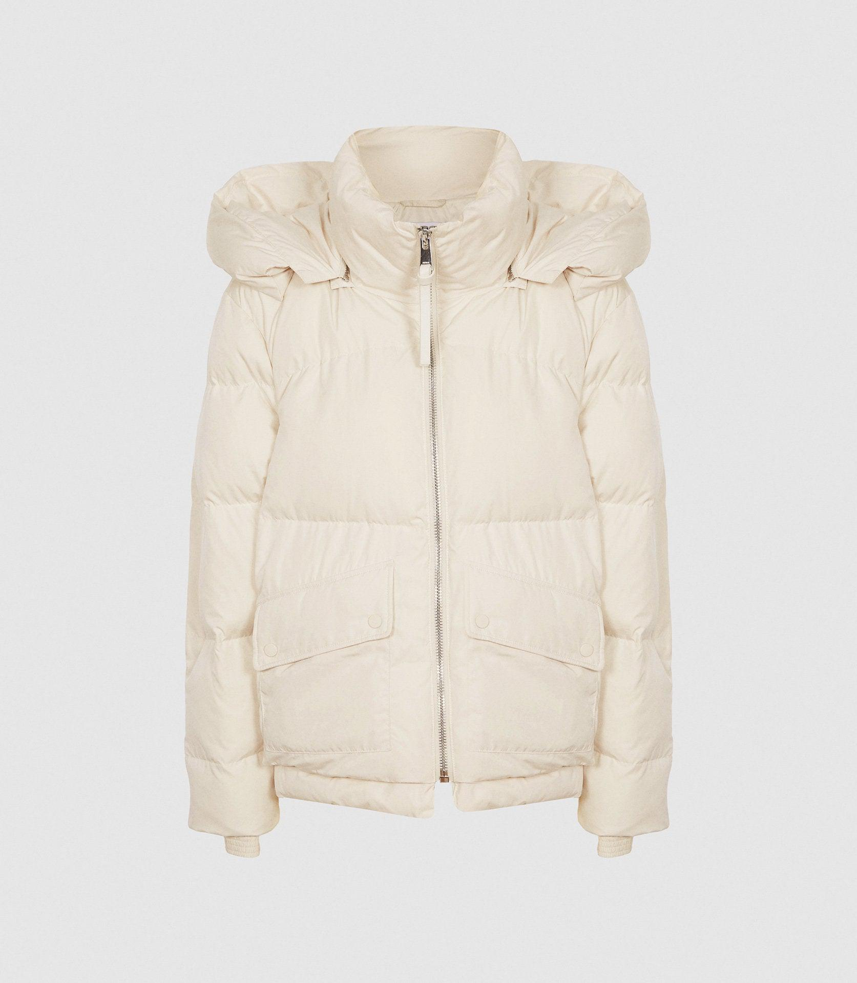 PAIGE - PUFFER JACKET WITH REMOVABLE HOOD 4