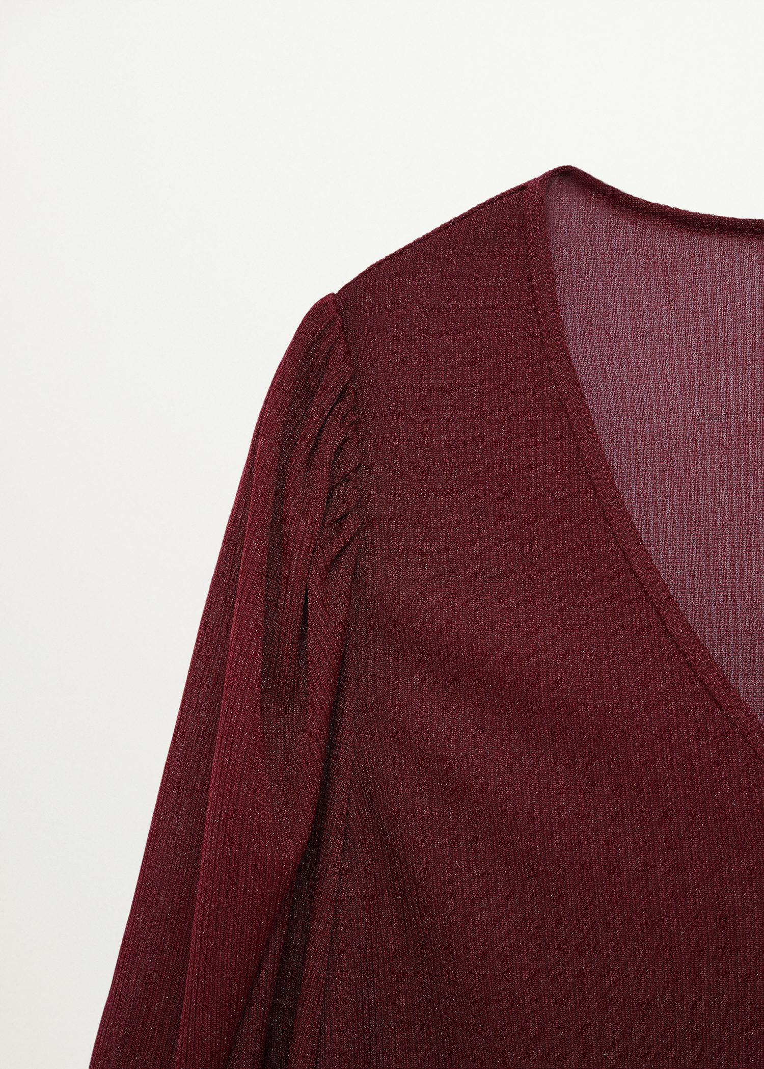 T-shirt with puffed sleeves 5