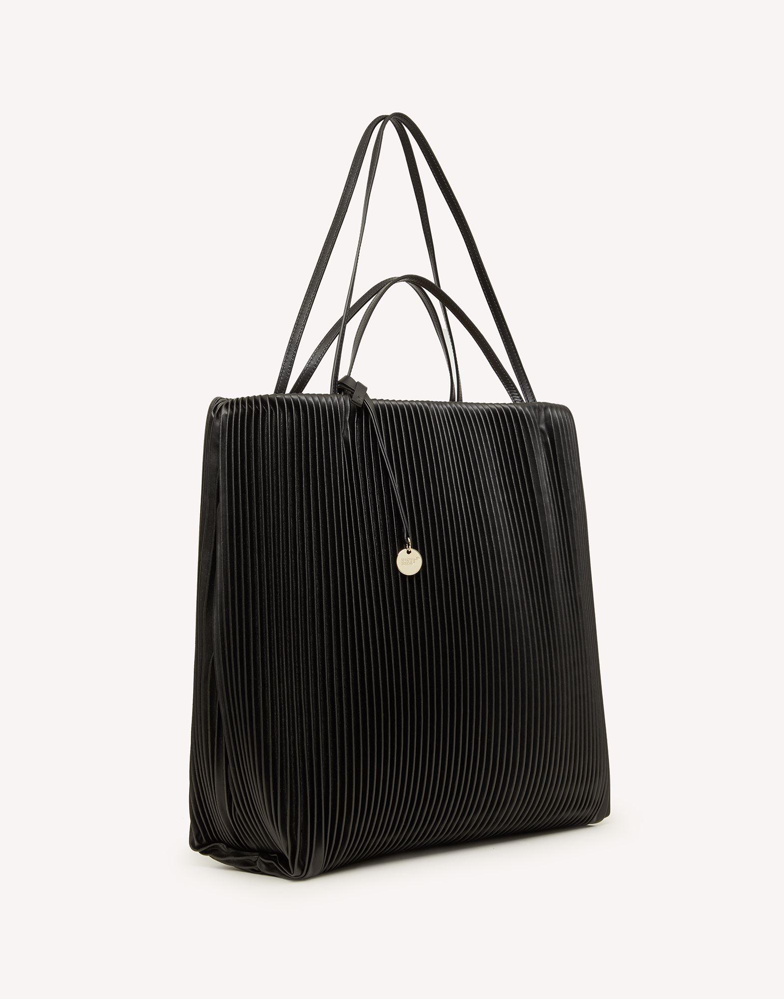 PLEATE(RED) TOTE BAG 1