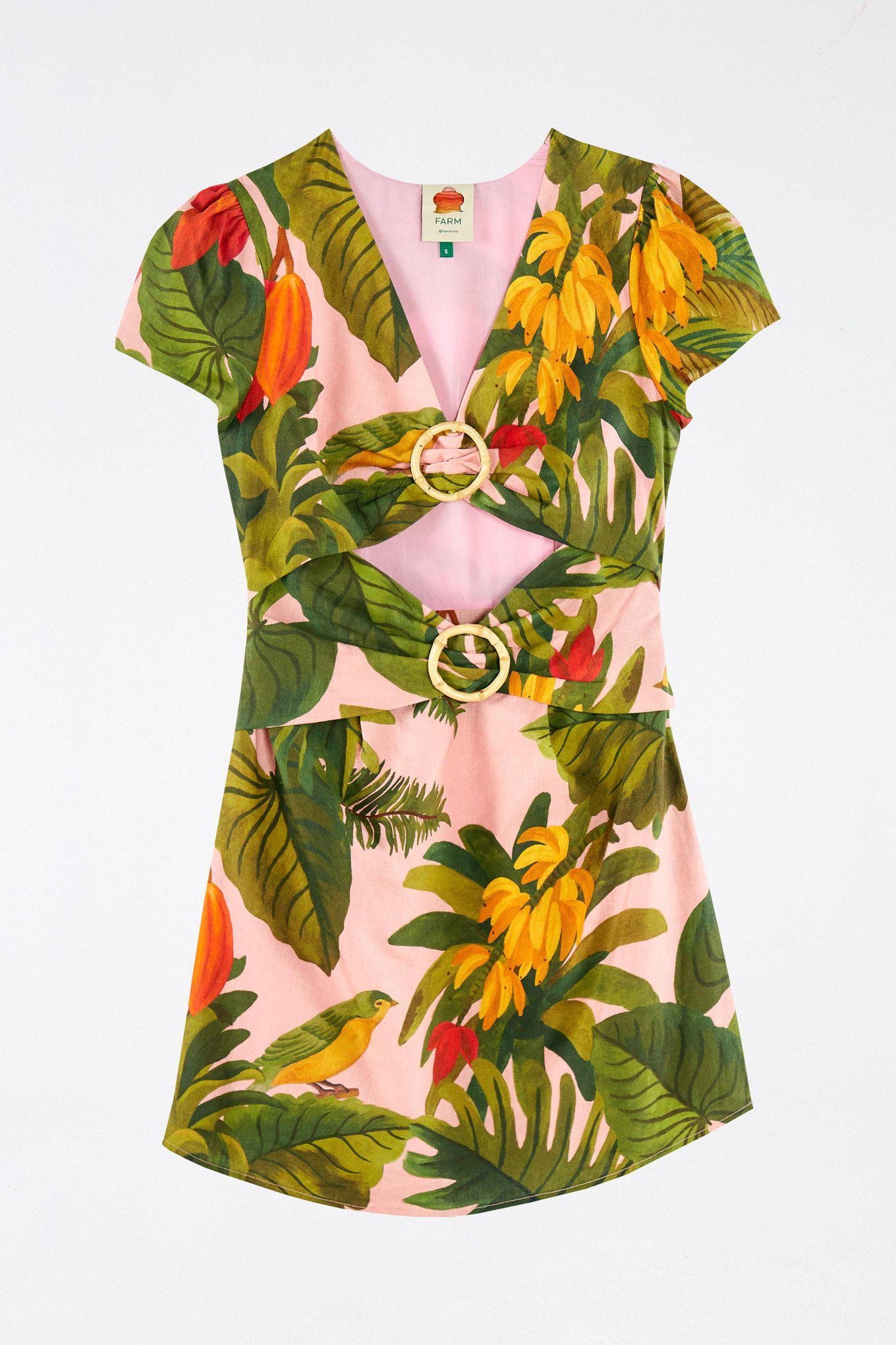 Pink Cocoa Forest Mini Dress 5