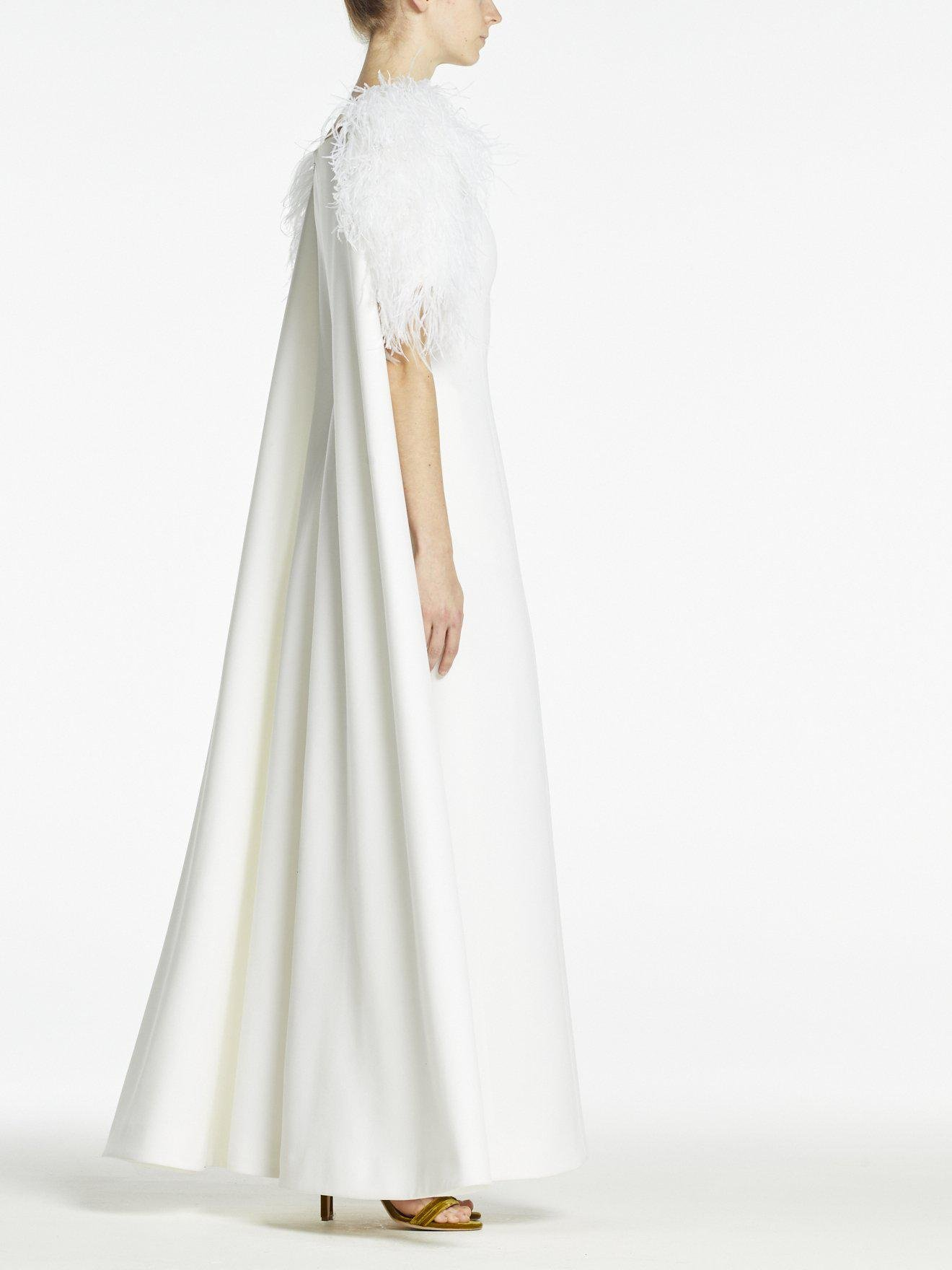 HORTENSE GOWN PURE WHITE CREPE 1