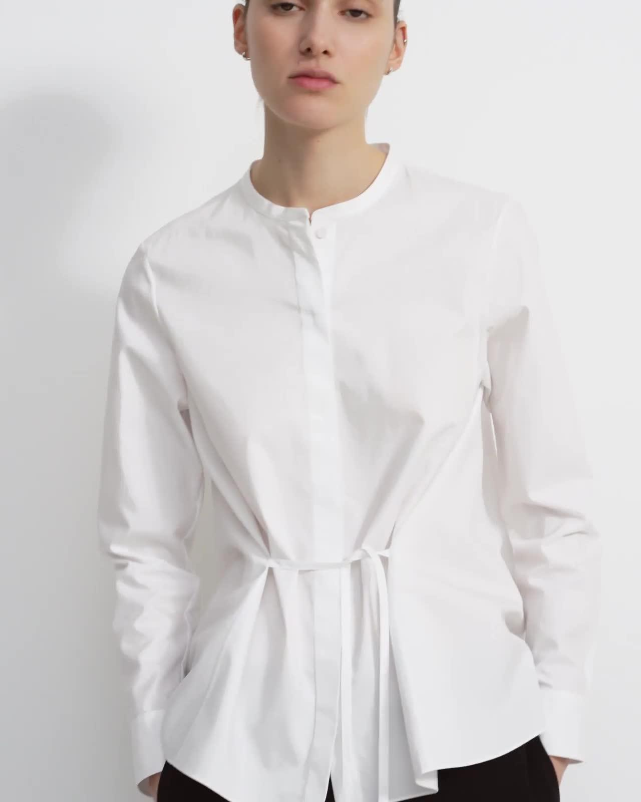 Cinched Shirt in Good Cotton 4