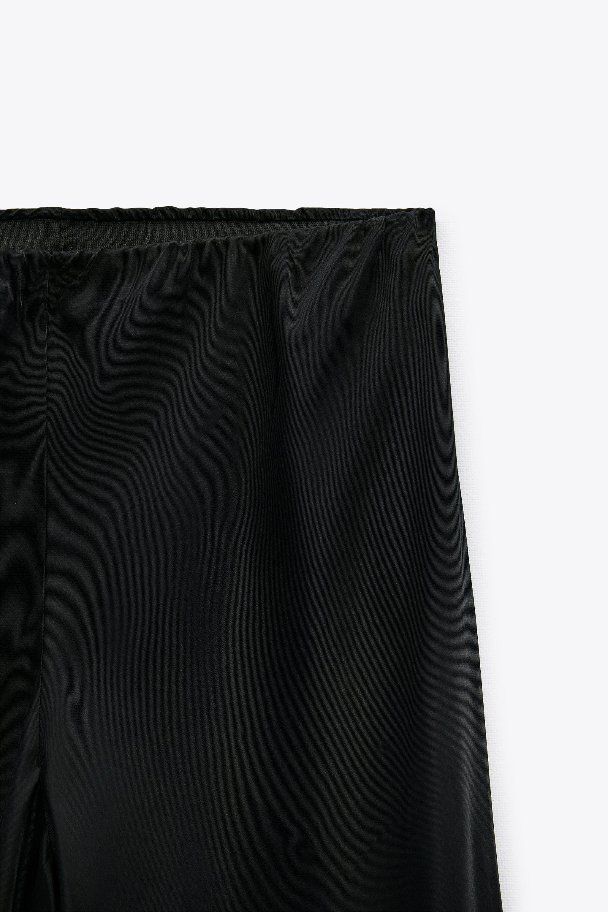 FLARED SATIN EFFECT PANTS 7