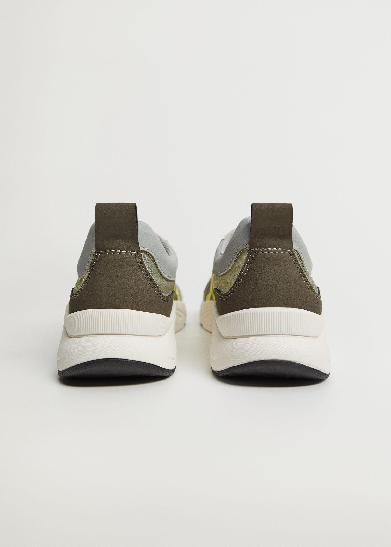 Shoes with transparent panels 1