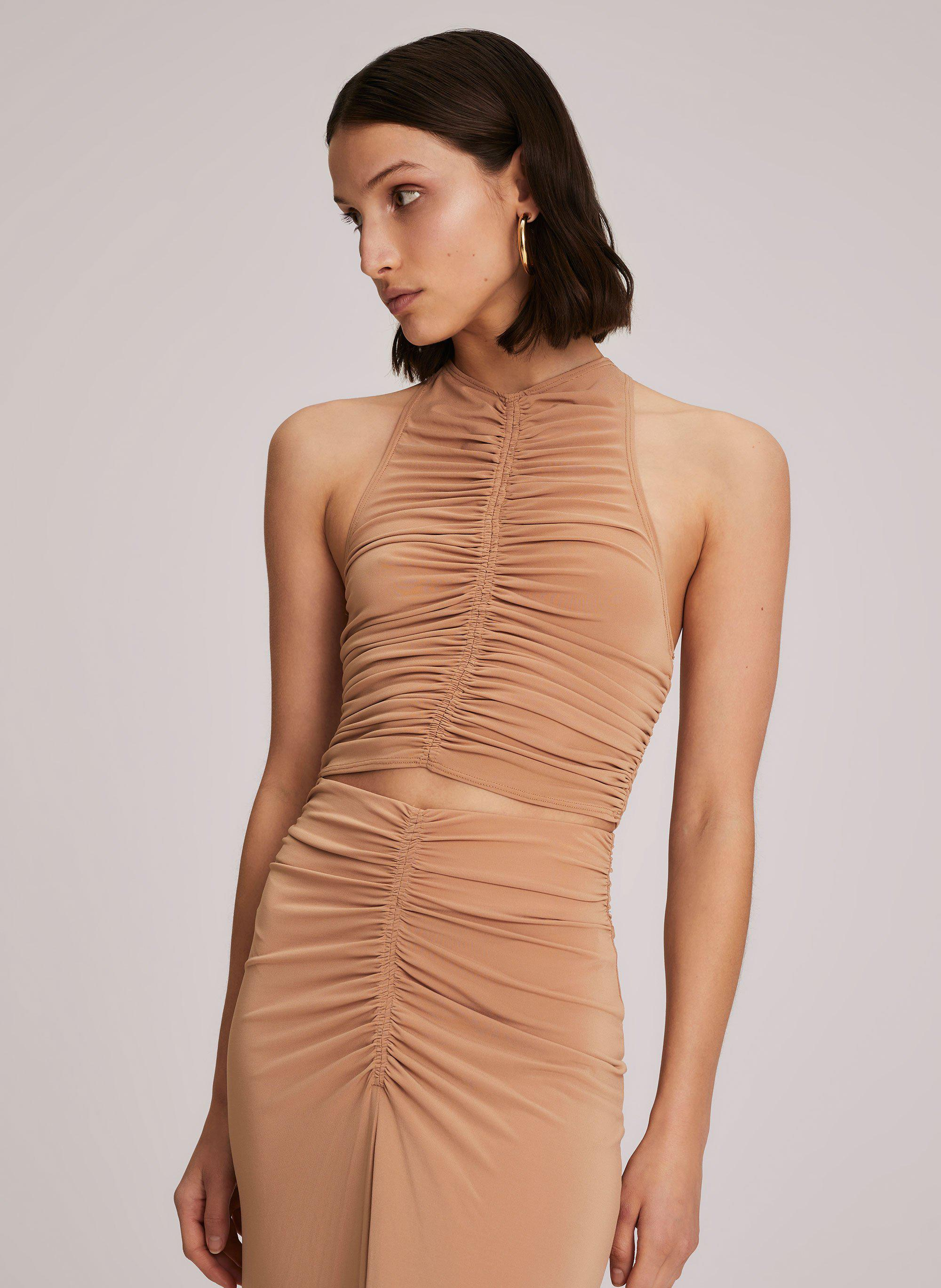 Adrienne Crepe Jersey Top 1