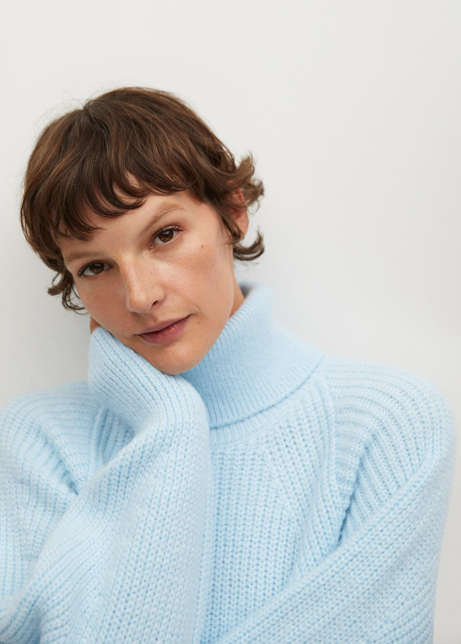 Turtleneck knitted sweater 5