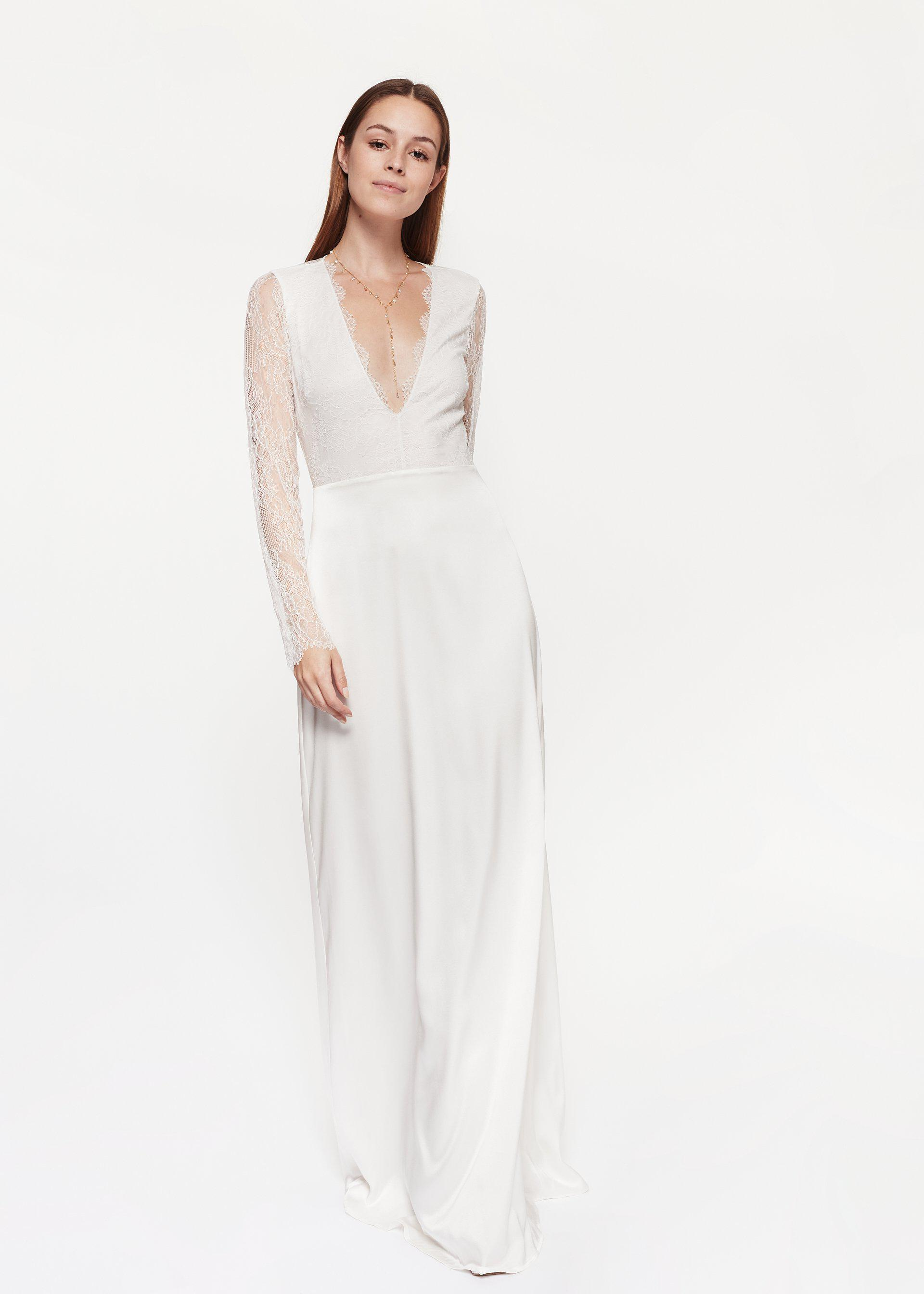 Laurie Dress White