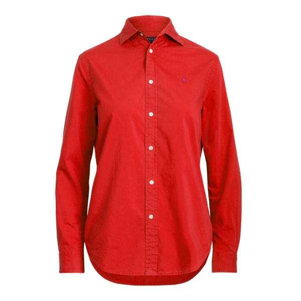 Relaxed Fit Cotton Twill Shirt 3