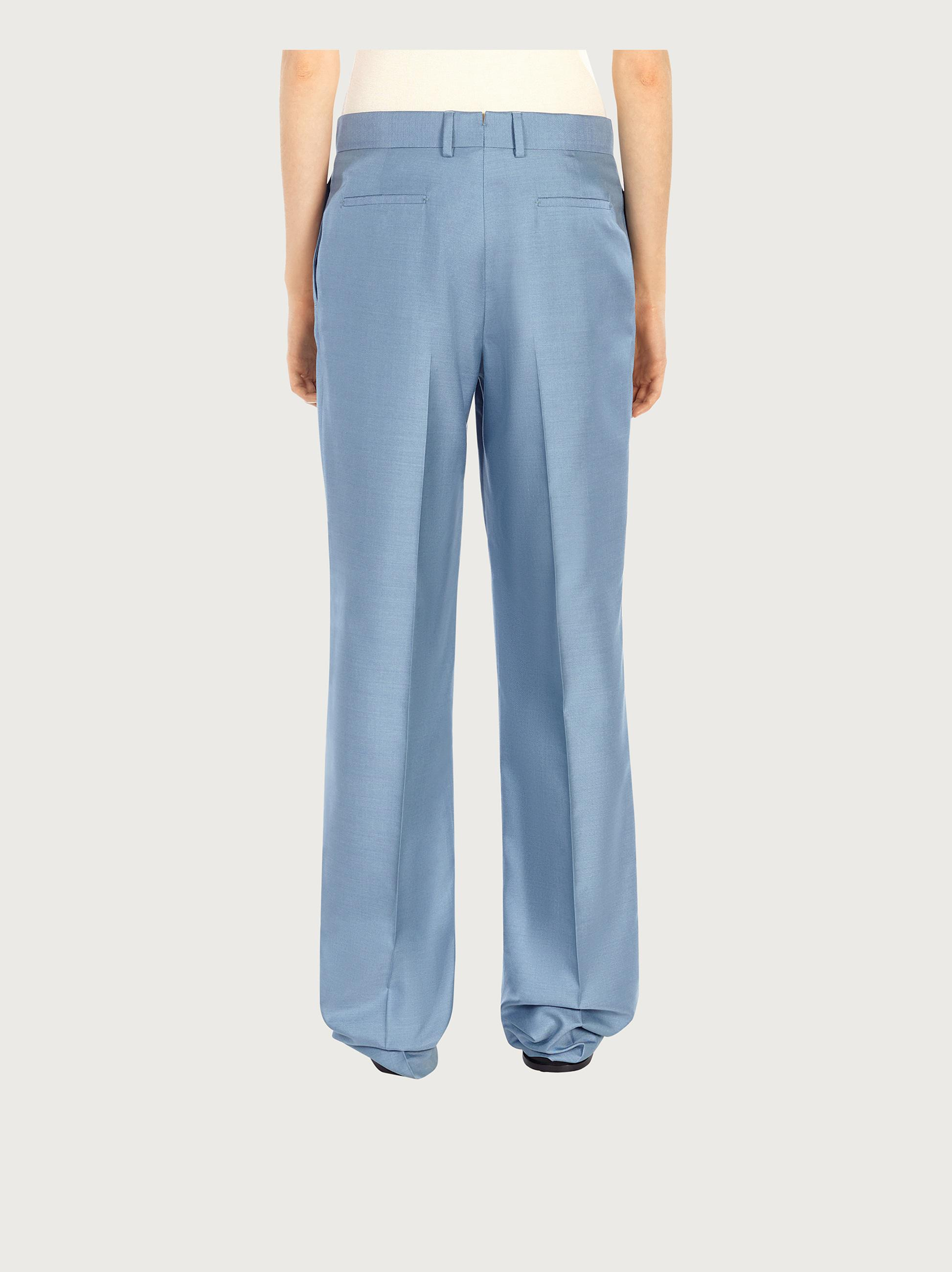 TAILORED SILK TROUSERS 2
