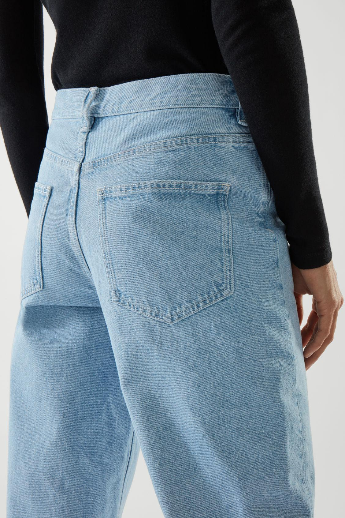 STRAIGHT MID-RISE JEANS 6