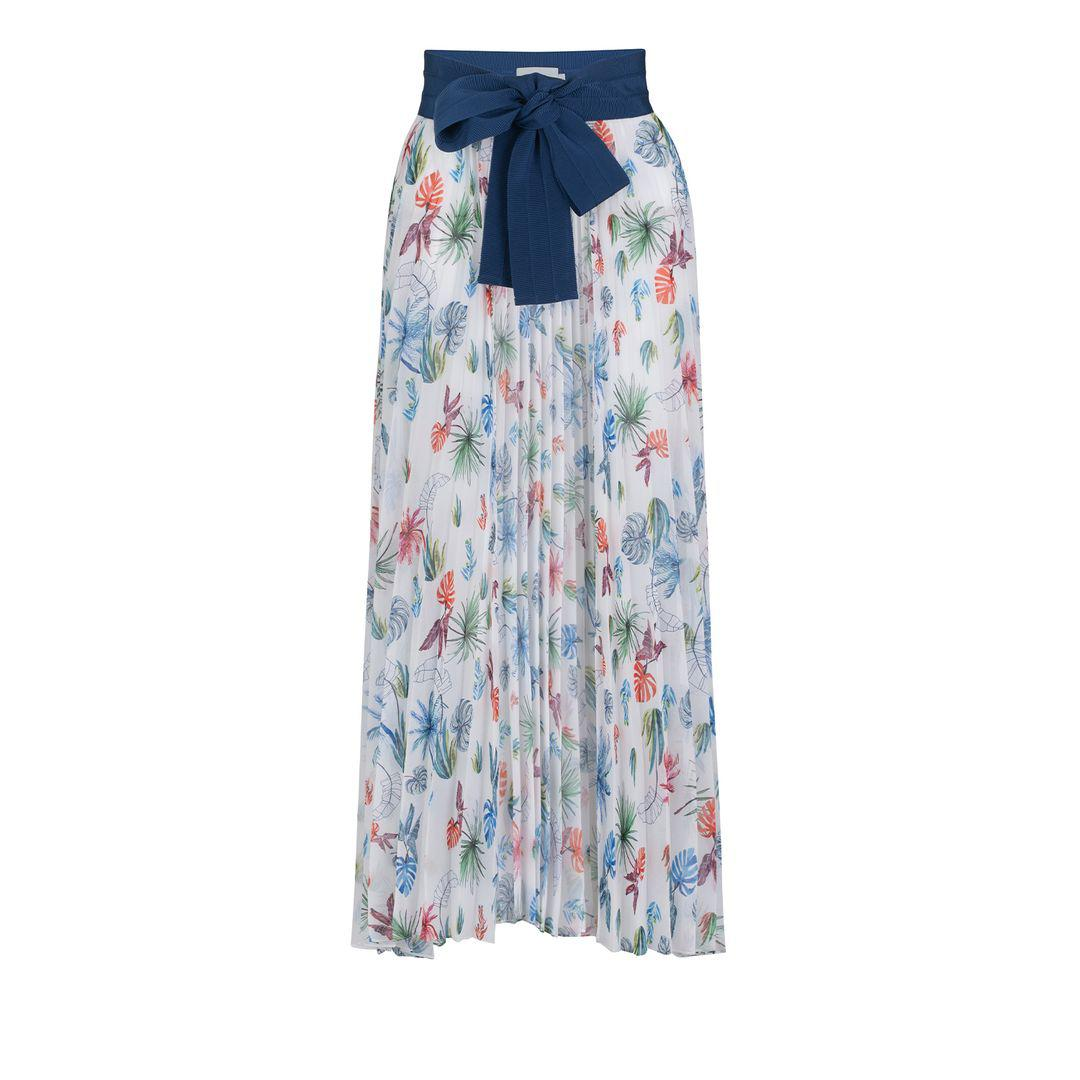 Blanche Skirt Pareo Floral